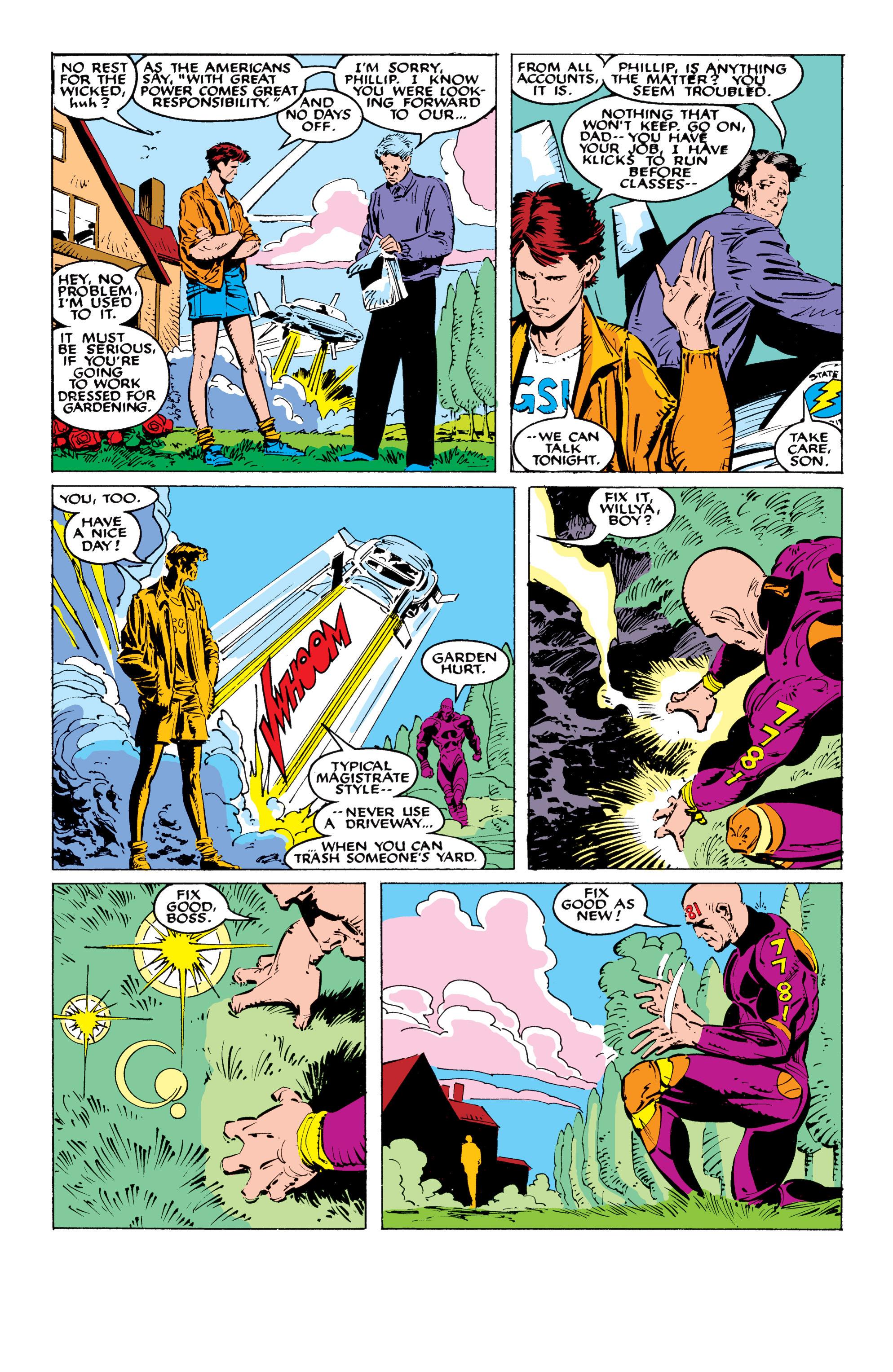 Read online Uncanny X-Men (1963) comic -  Issue #236 - 7