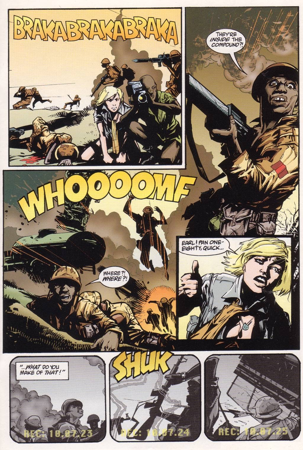 Aliens vs. Predator: Eternal issue 1 - Page 11