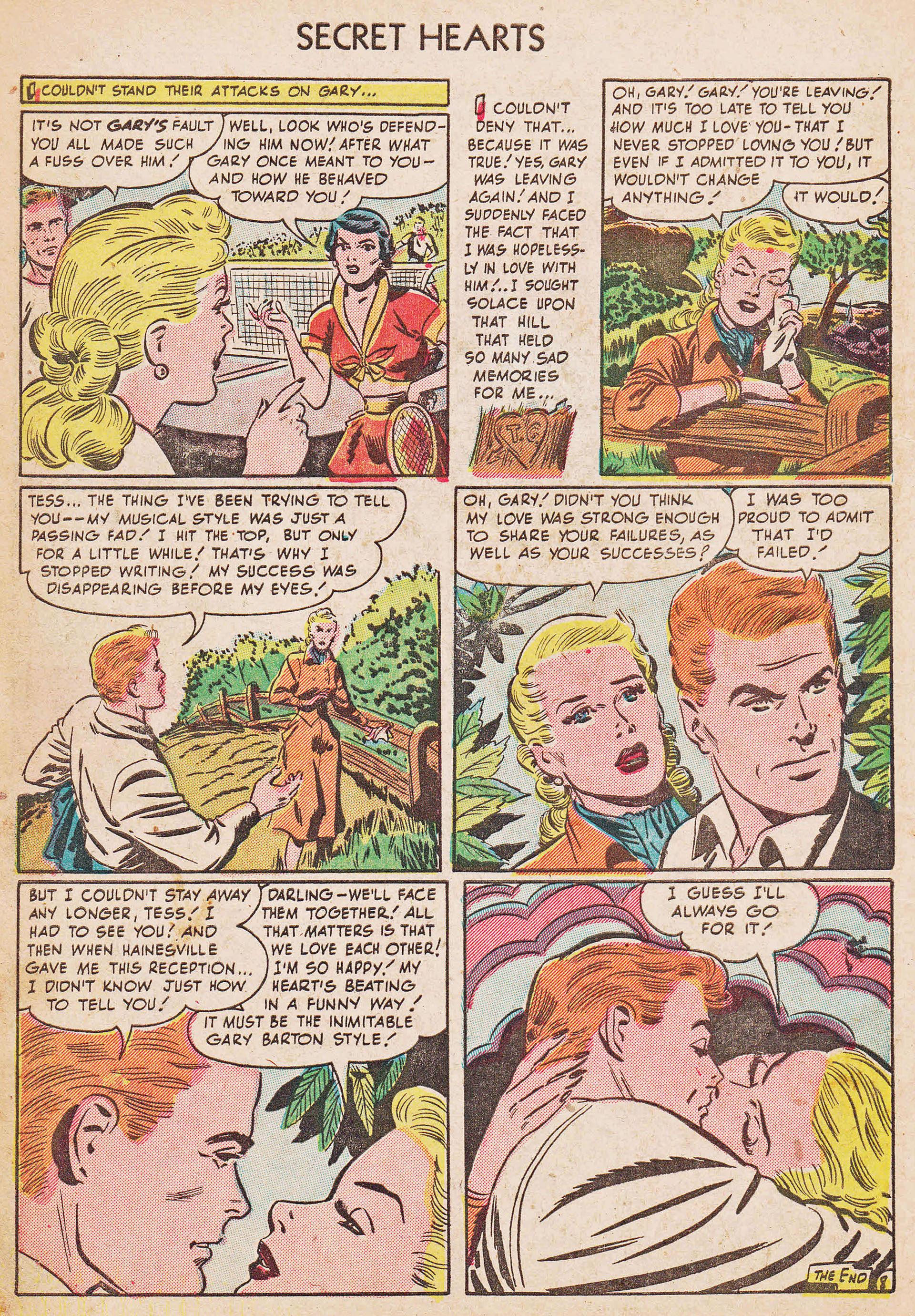 Read online Secret Hearts comic -  Issue #7 - 10