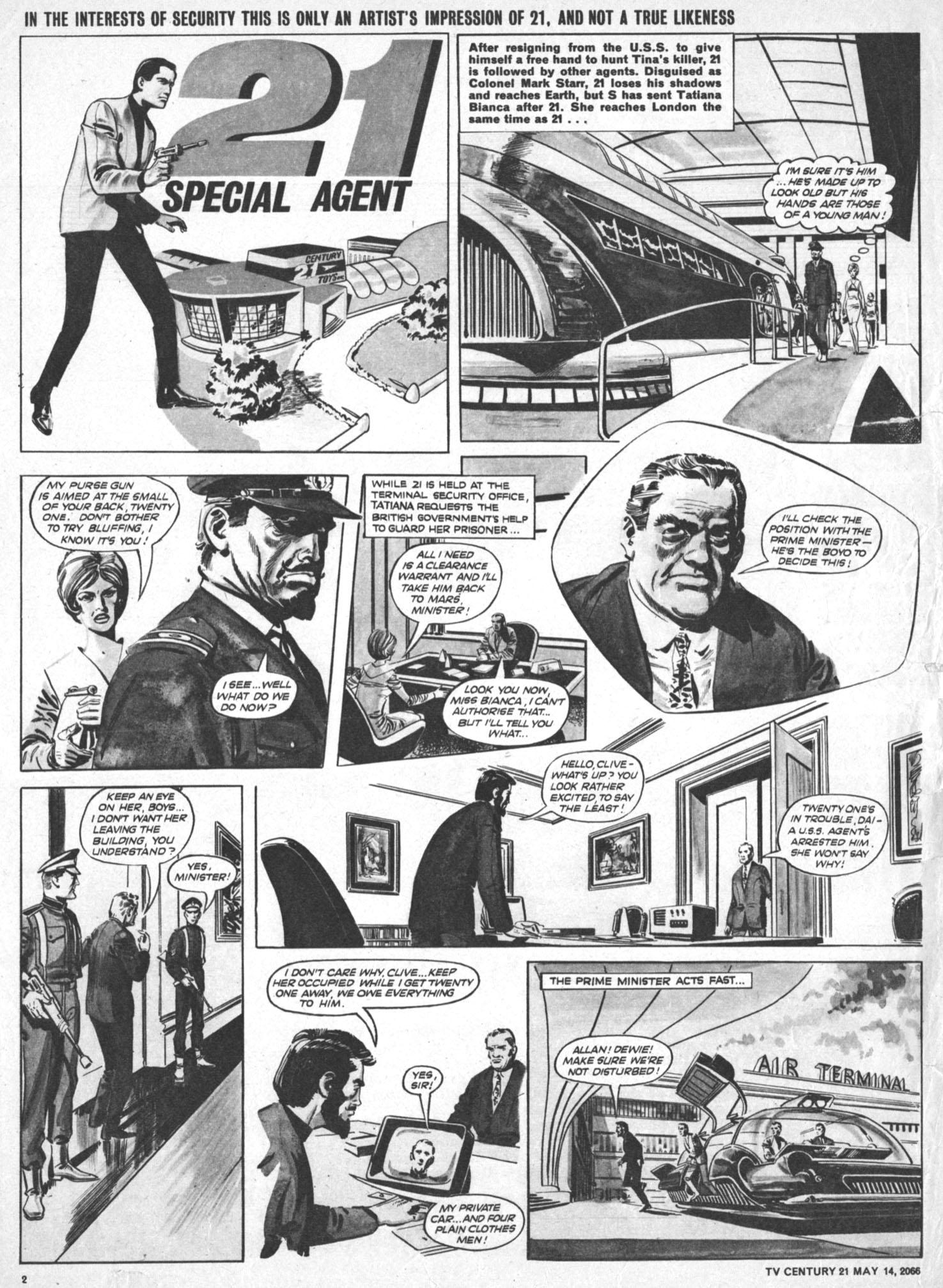 Read online TV Century 21 (TV 21) comic -  Issue #69 - 2