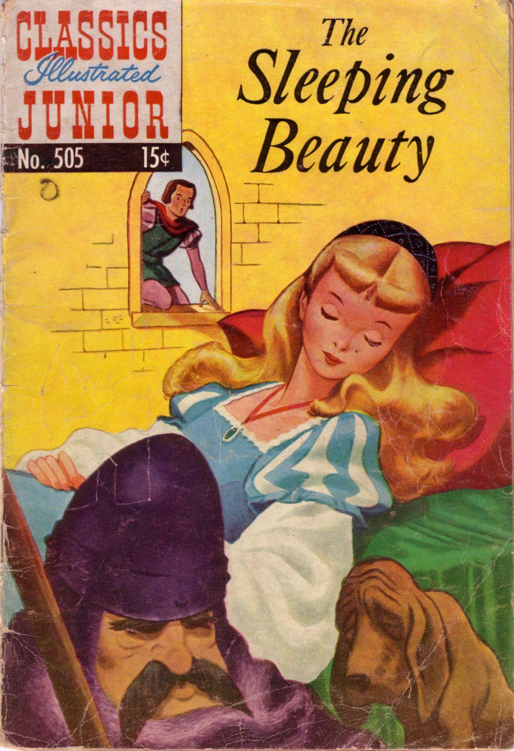 Classics Illustrated Junior 505 Page 1