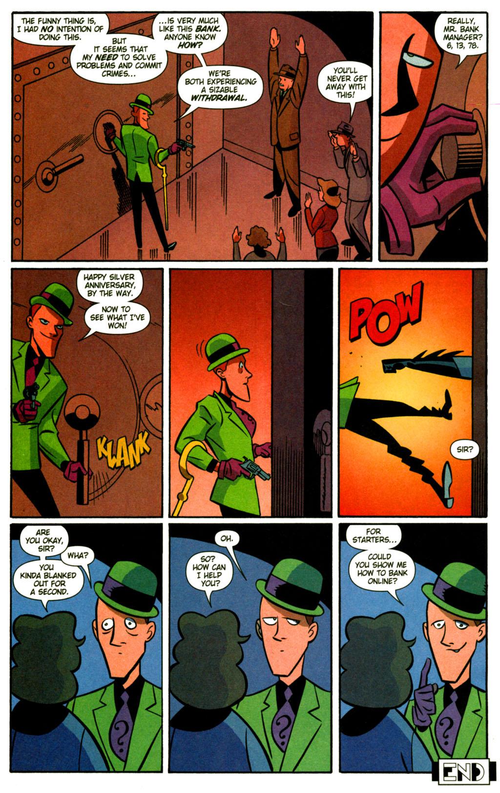 read online batman adventures 2003 comic issue 11