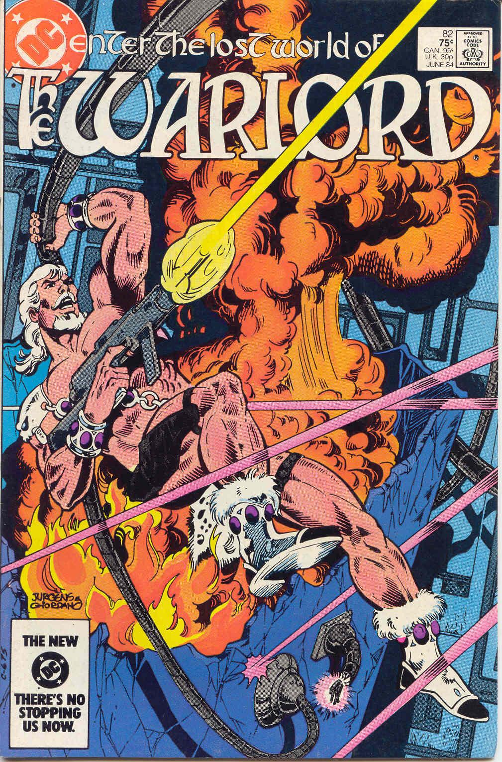 Warlord (1976) 82 Page 1