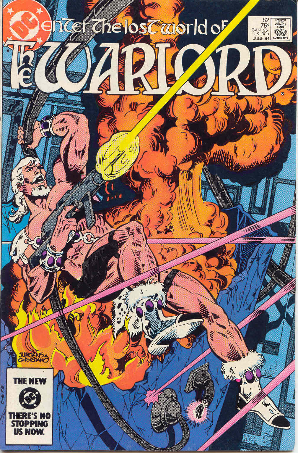 Warlord (1976) issue 82 - Page 1