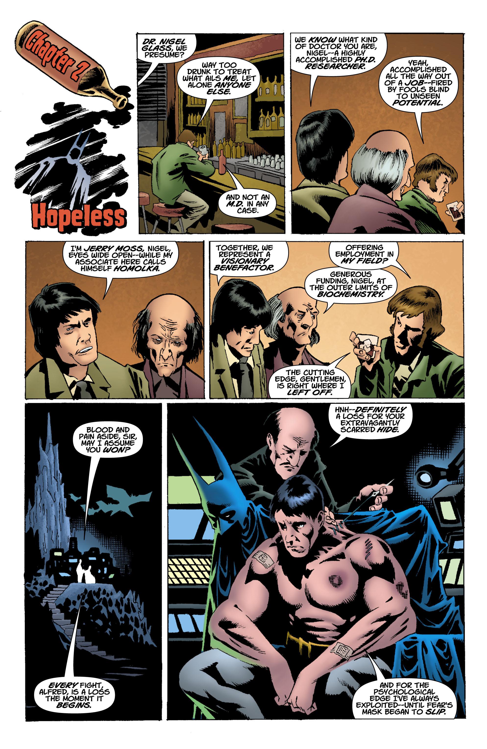 Read online Batman: Unseen comic -  Issue #1 - 7