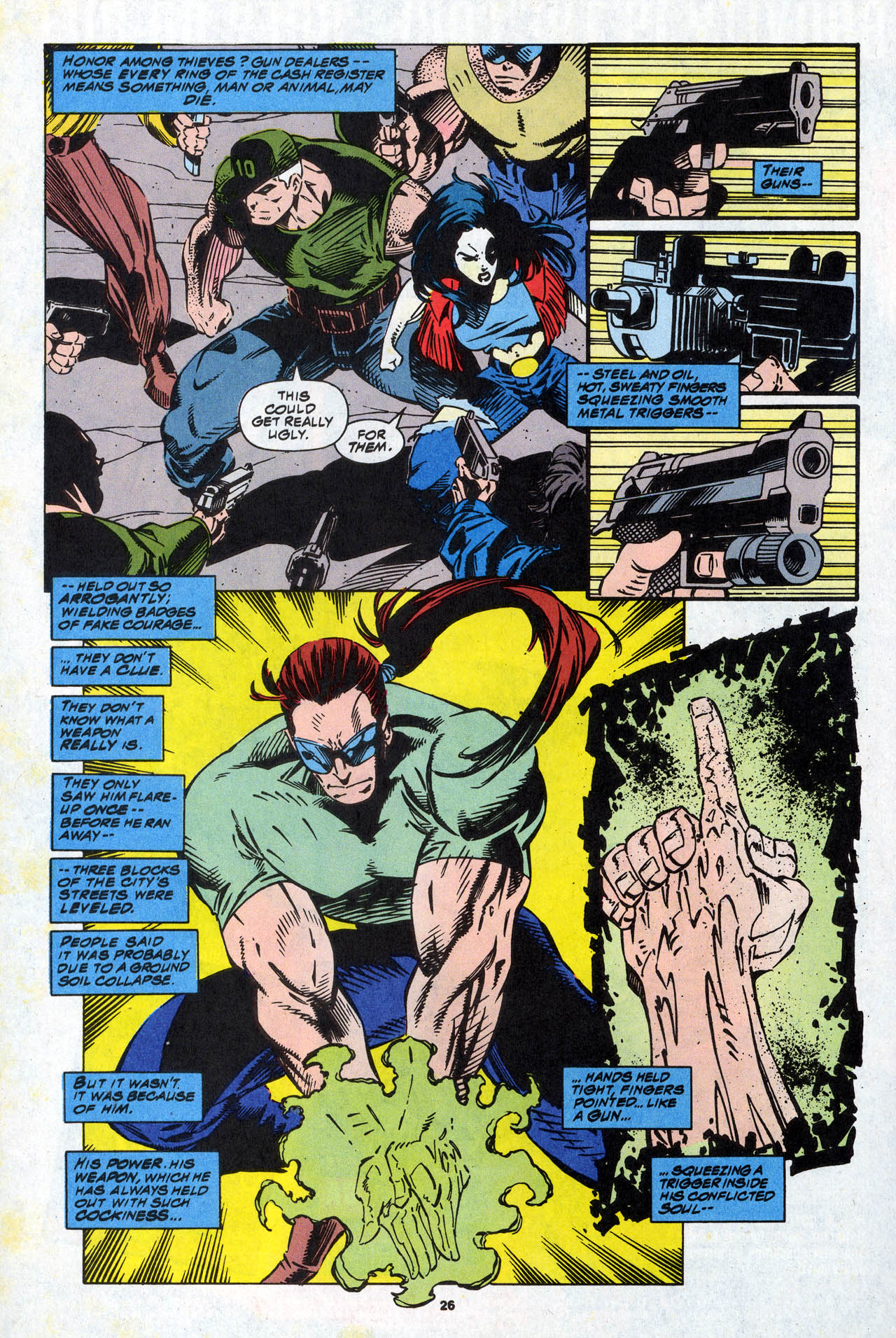 Read online X-Force (1991) comic -  Issue #34 - 26