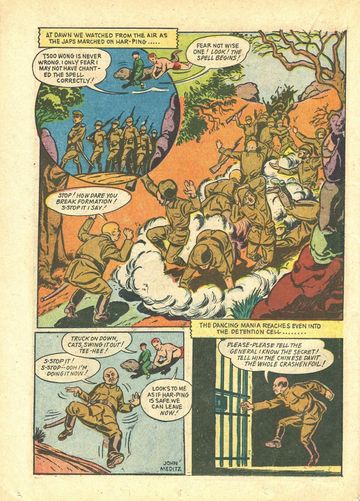 Read online Super-Magician Comics comic -  Issue #21 - 40