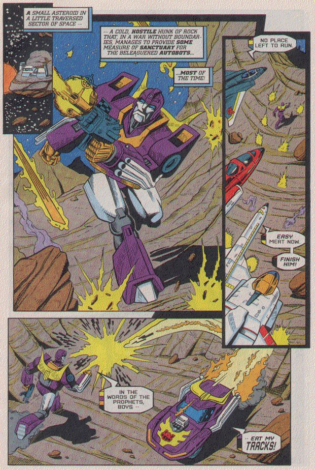 Read online Transformers: Generation 2 comic -  Issue #5 - 10