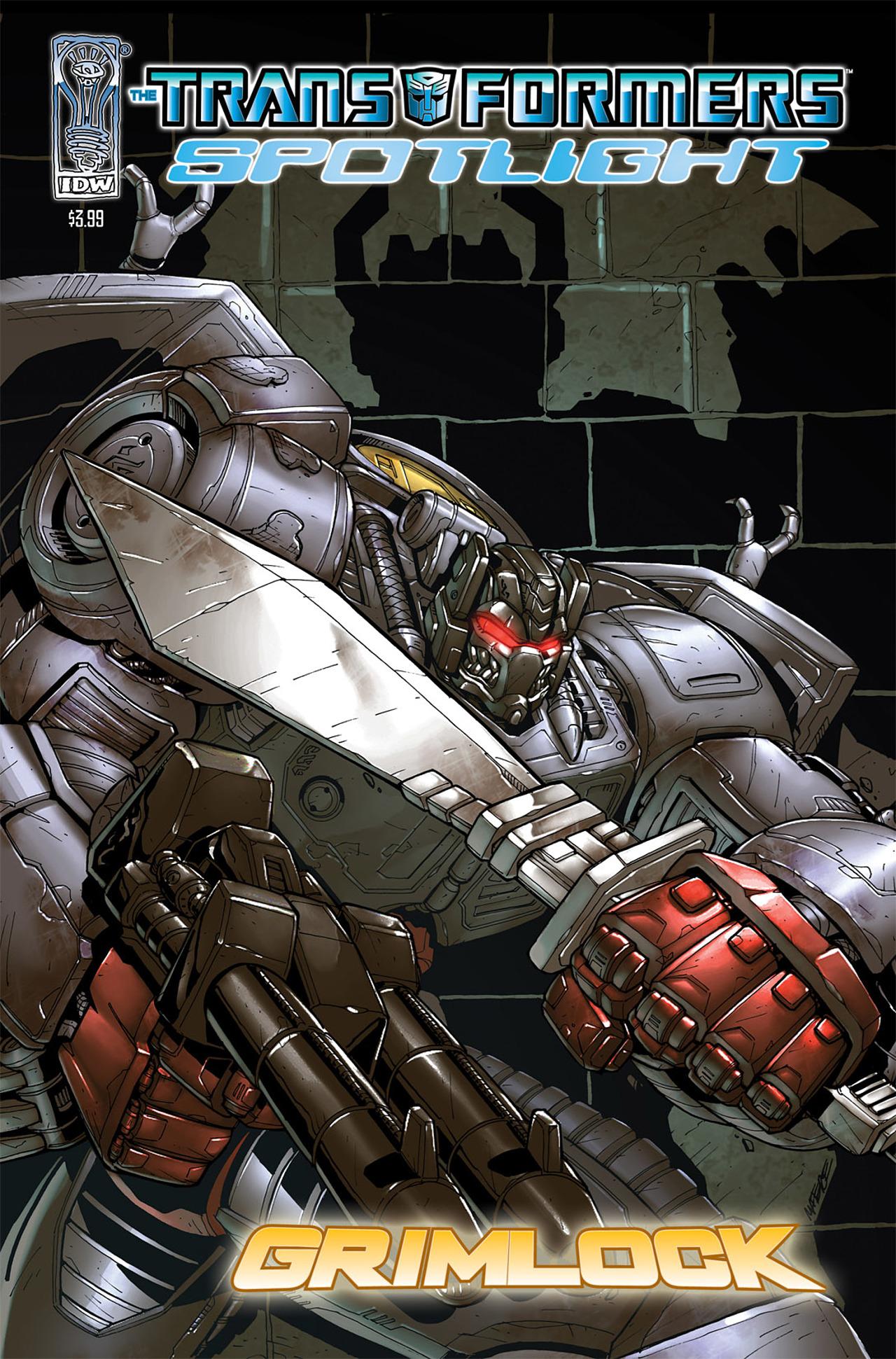 Read online Transformers Spotlight: Grimlock comic -  Issue # Full - 1