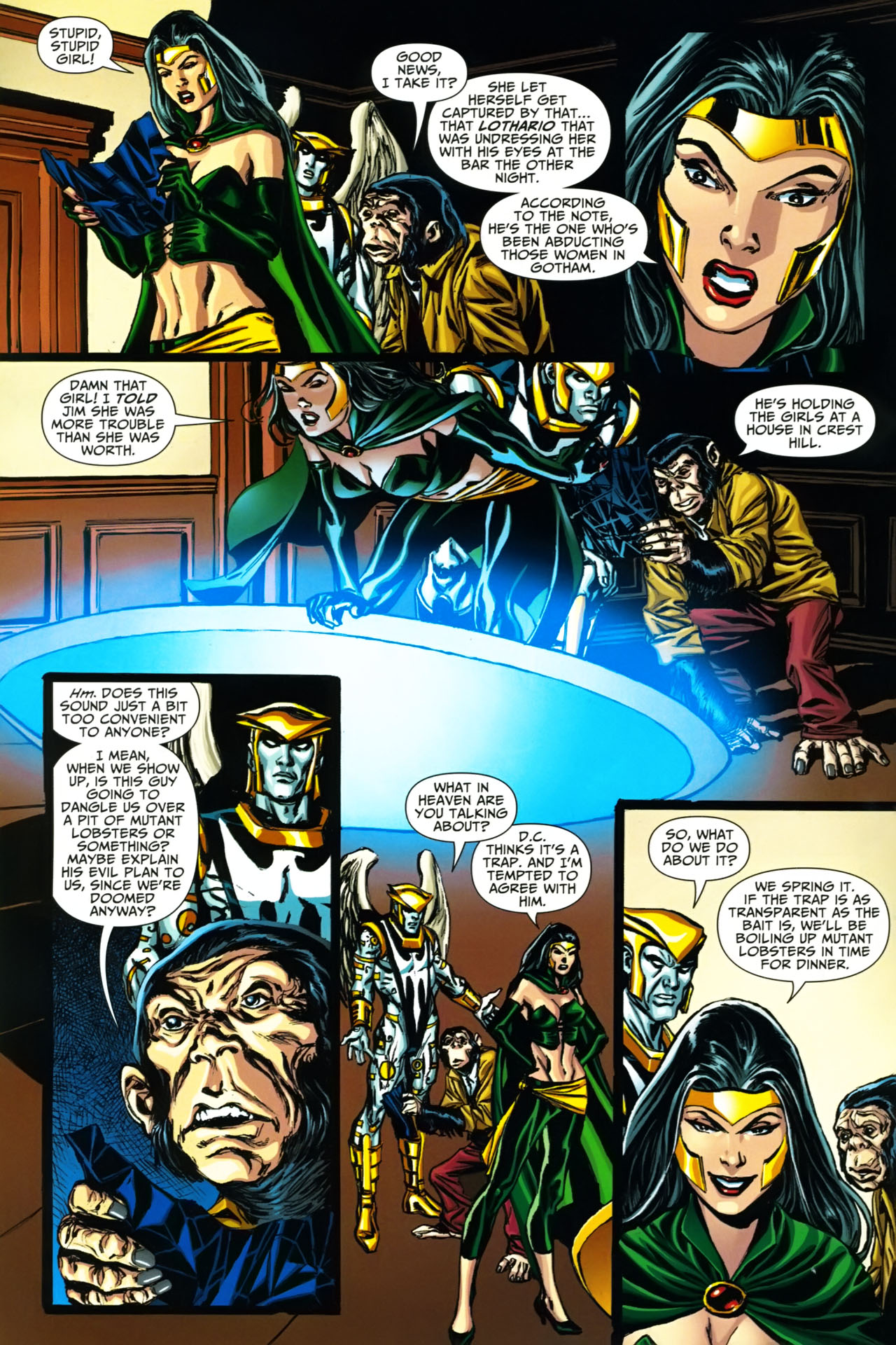 Read online Shadowpact comic -  Issue #19 - 5