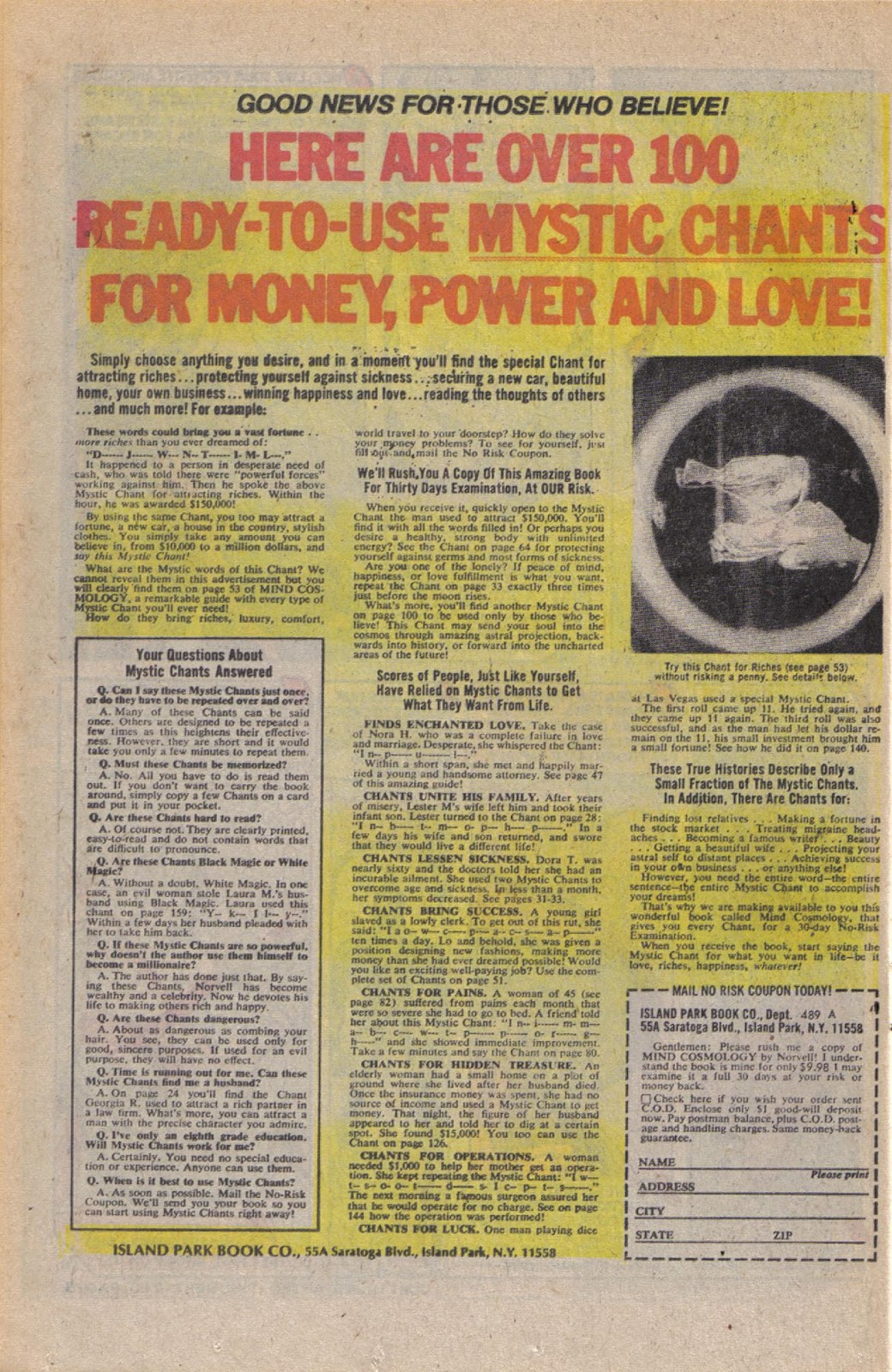 Read online Doomsday   1 (1975) comic -  Issue #10 - 21