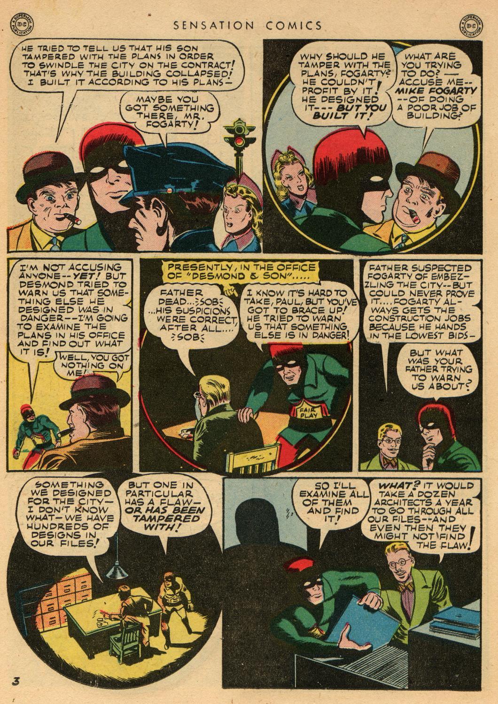 Read online Sensation (Mystery) Comics comic -  Issue #36 - 36
