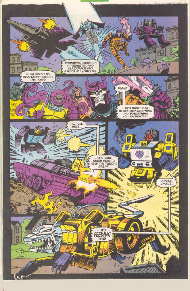 Read online Transformers: Generation 2 comic -  Issue #4 - 22