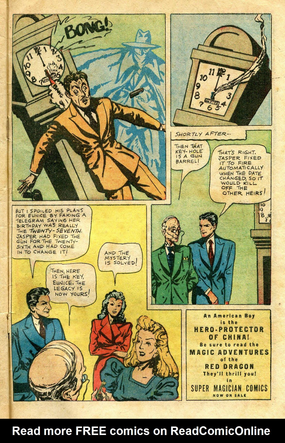 Read online Shadow Comics comic -  Issue #65 - 49