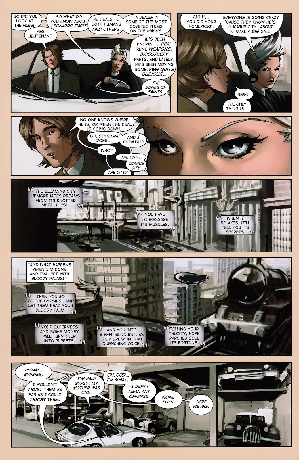 Read online Vescell comic -  Issue #3 - 14