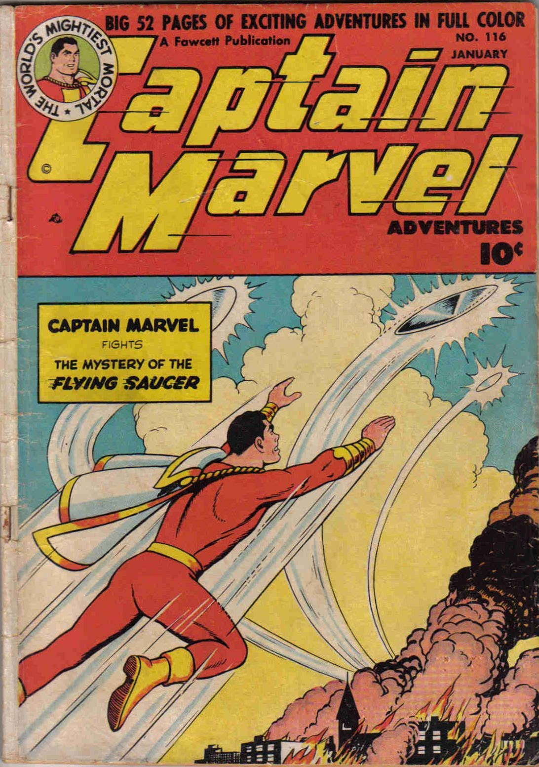 Captain Marvel Adventures 116 Page 1