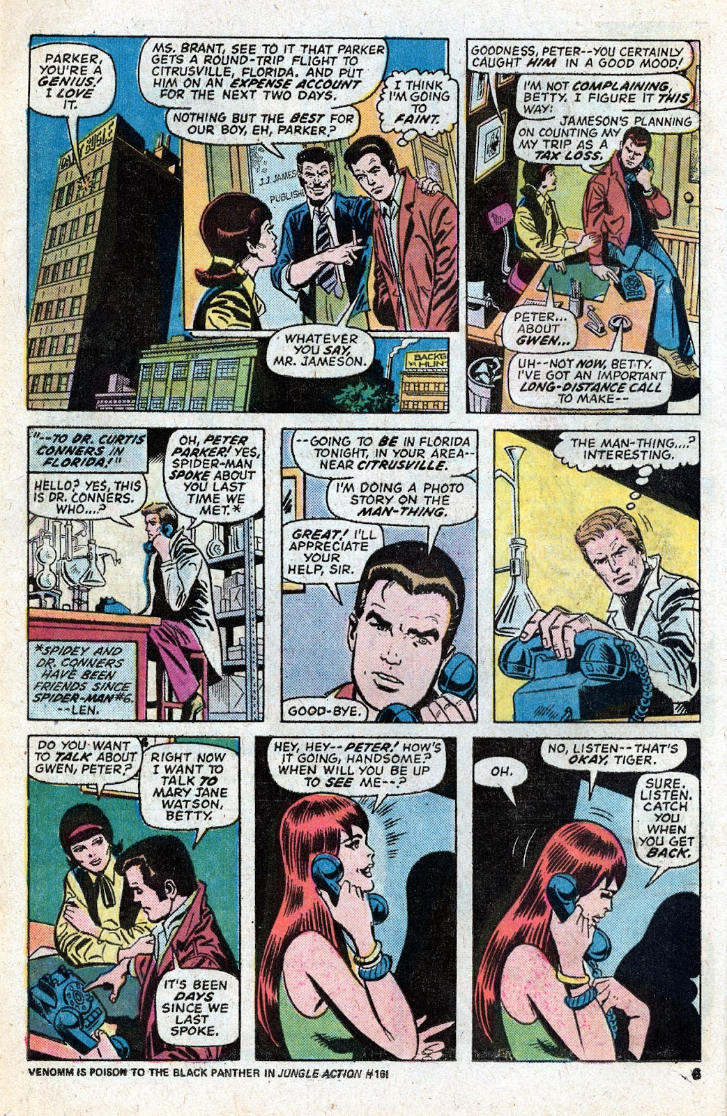 Giant-Size Spider-Man (1974) issue 5 - Page 8