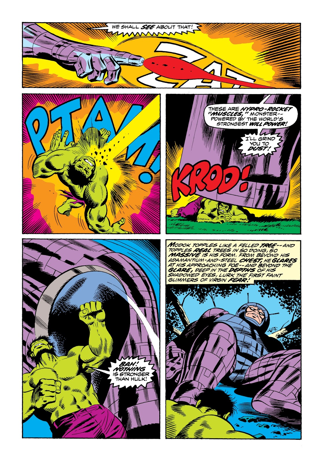 Read online Marvel Masterworks: The Incredible Hulk comic -  Issue # TPB 9 (Part 3) - 33