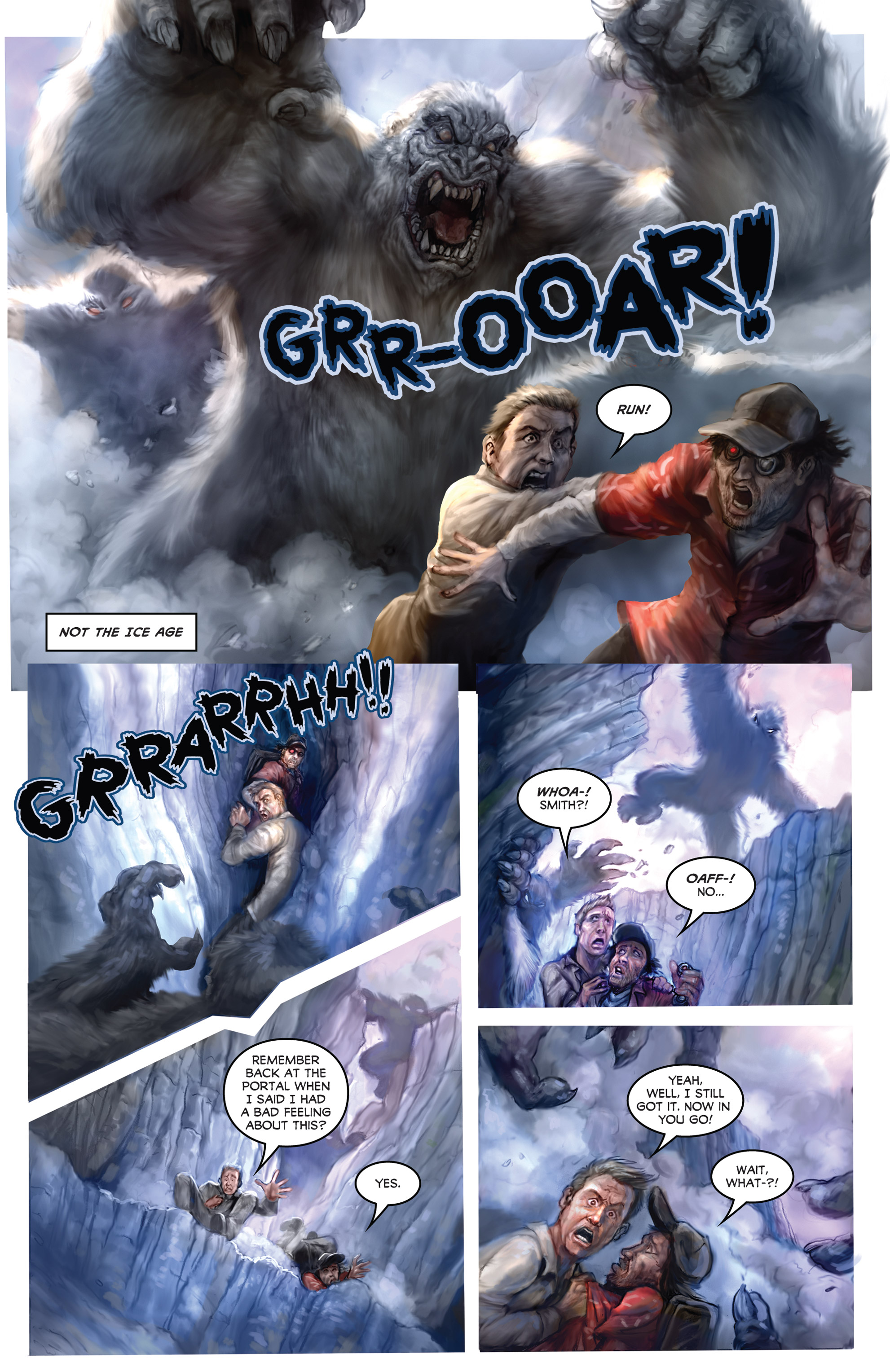 Read online American Mythology Dark: Werewolves vs Dinosaurs comic -  Issue #2 - 4