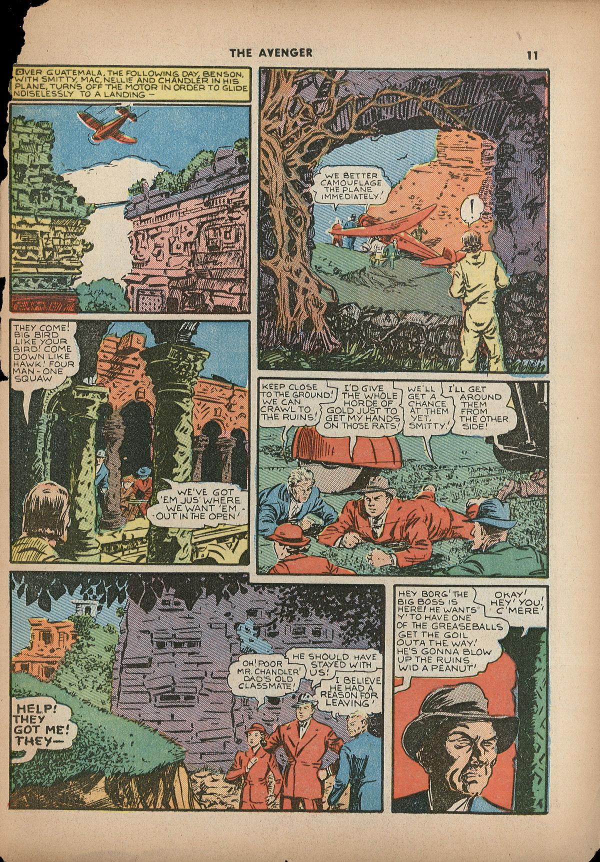 Read online Shadow Comics comic -  Issue #2 - 14