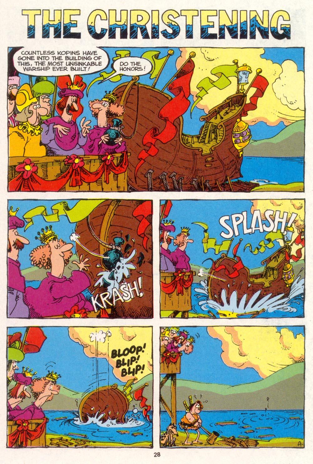 Read online Sergio Aragonés Groo the Wanderer comic -  Issue #88 - 29