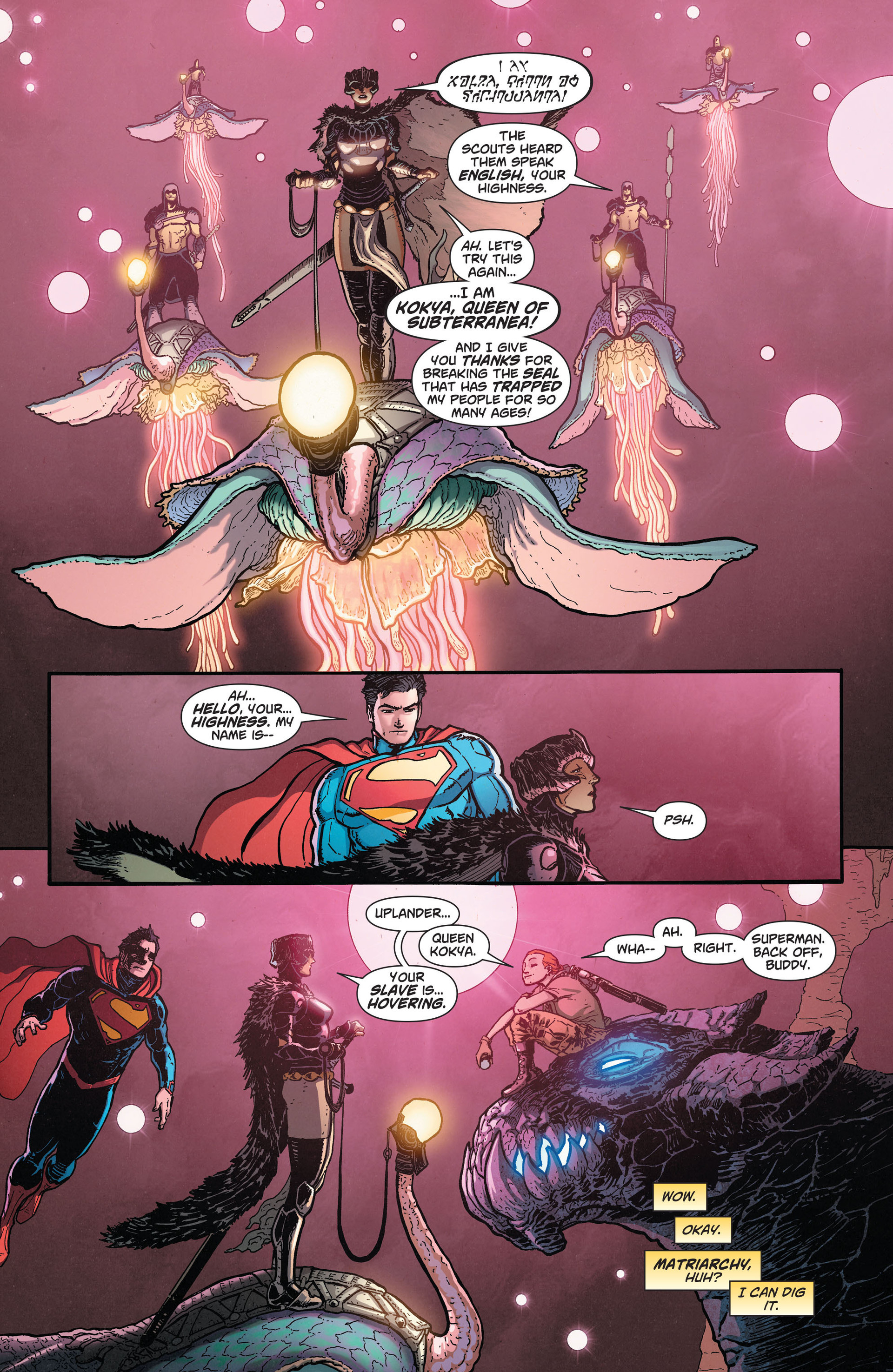 Read online Action Comics (2011) comic -  Issue #28 - 5