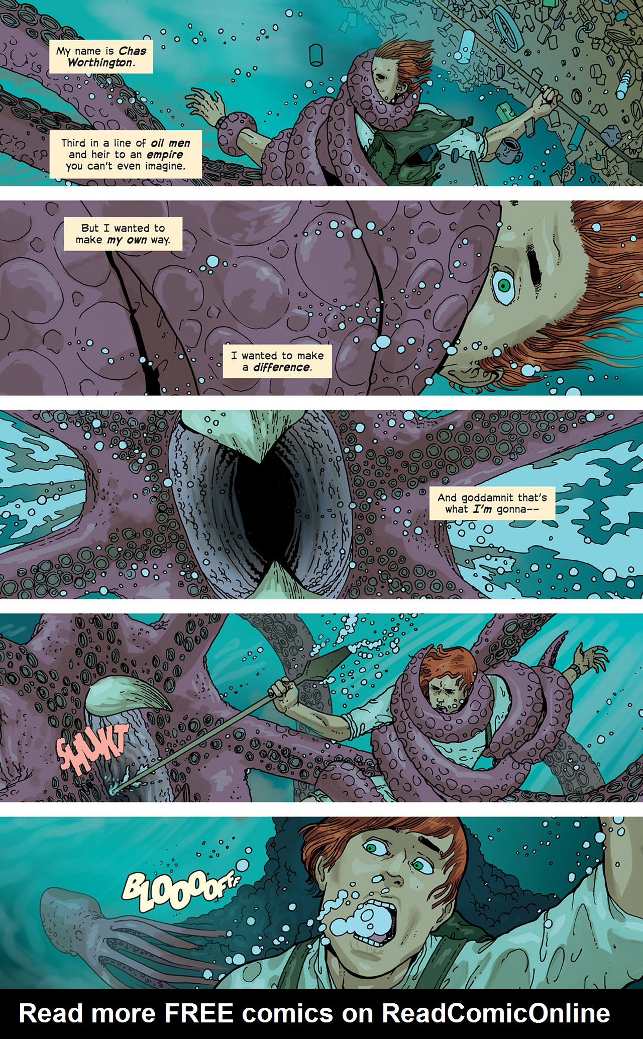 Read online Great Pacific comic -  Issue #2 - 22