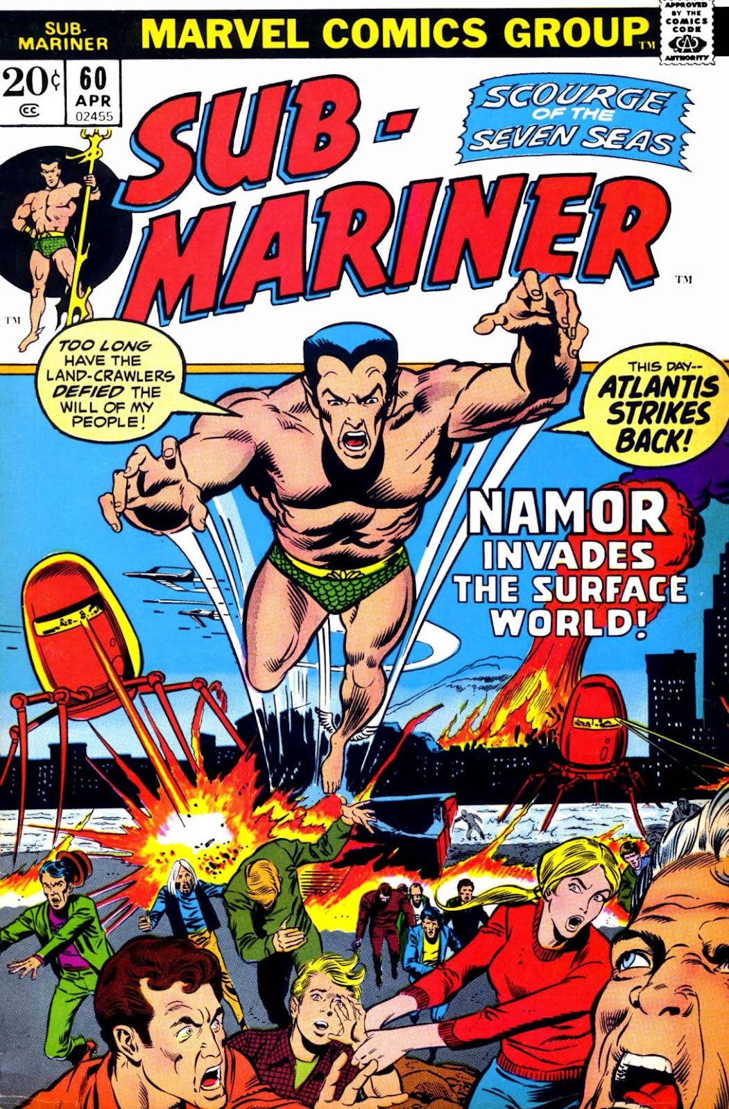 The Sub-Mariner 60 Page 1