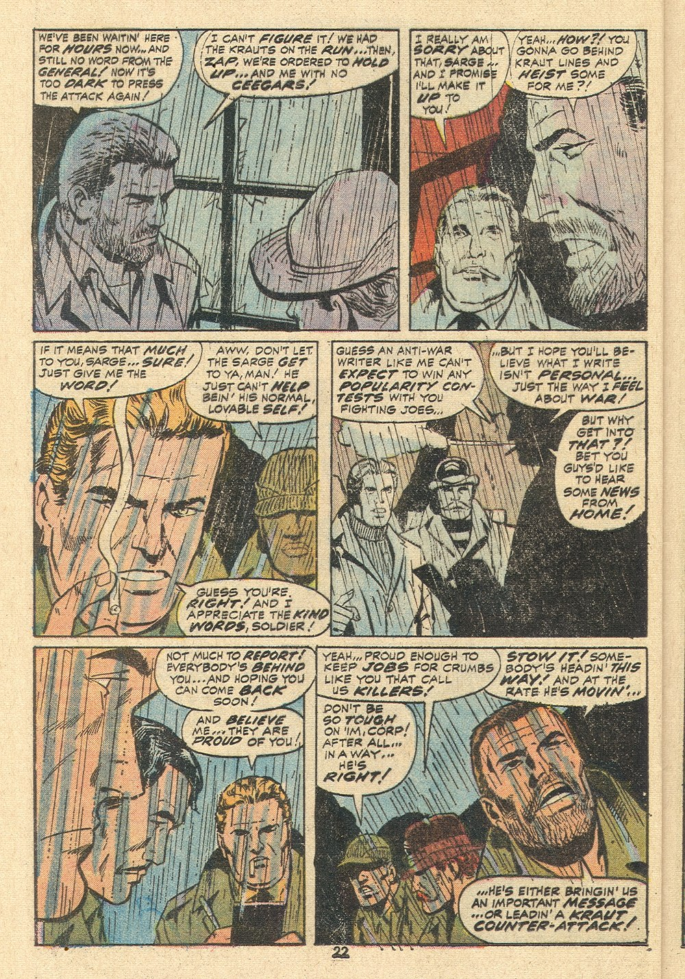 Read online Sgt. Fury comic -  Issue #110 - 24