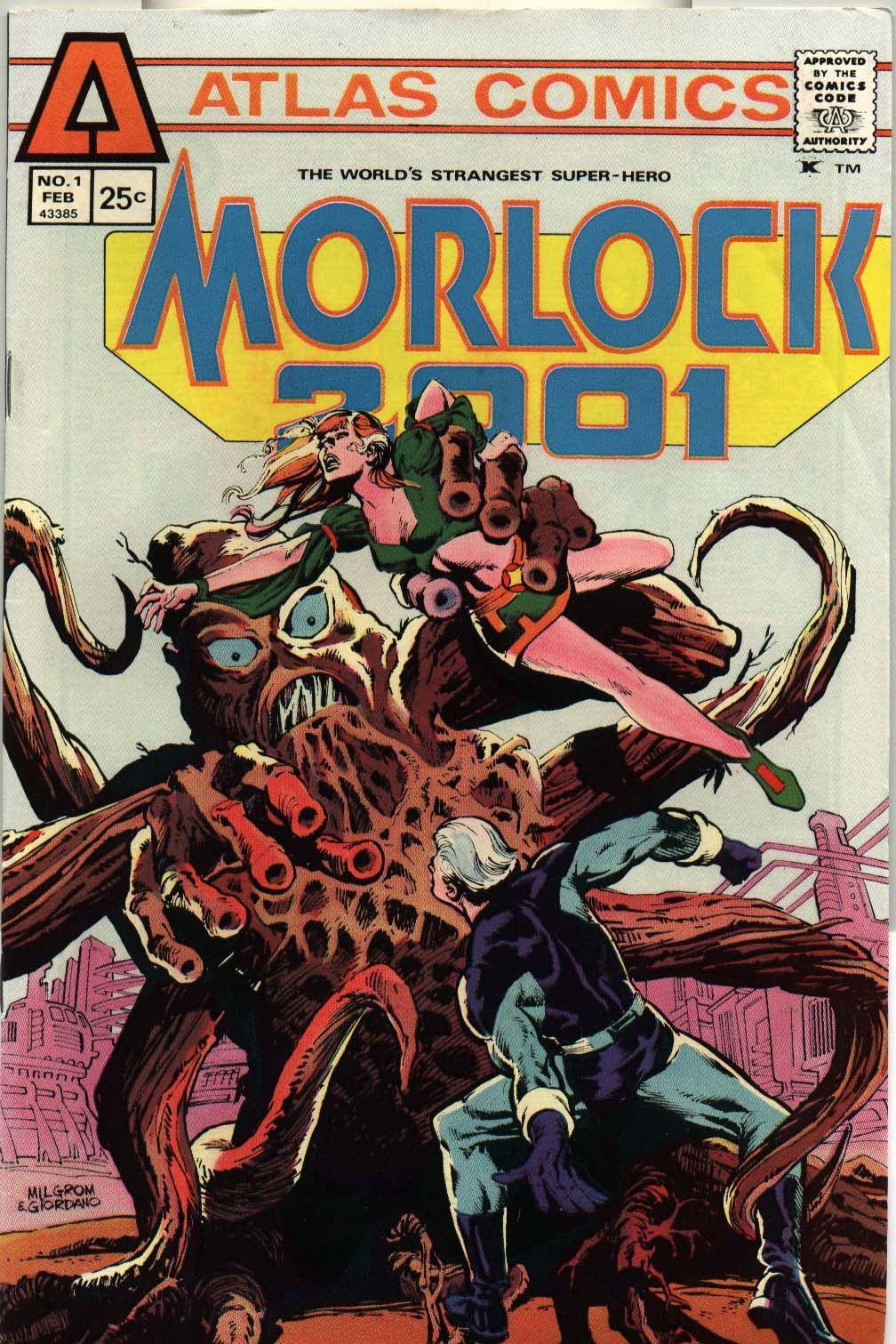 Morlock 2001 issue 1 - Page 1
