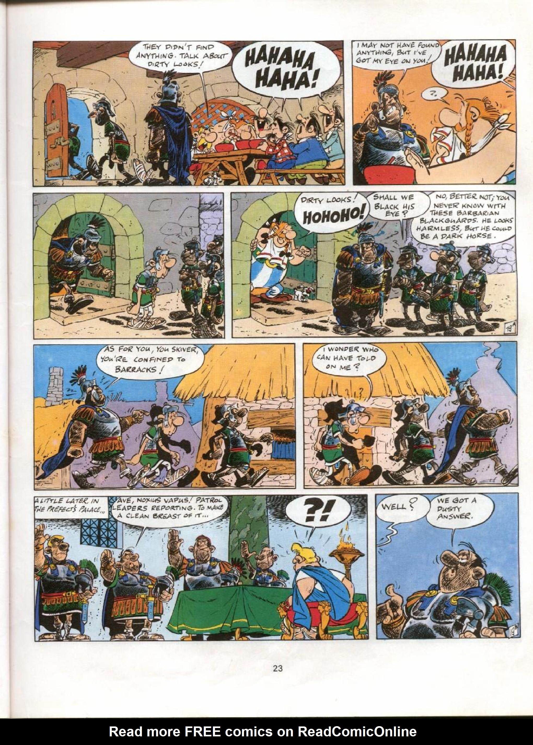 Read online Asterix comic -  Issue #11 - 20