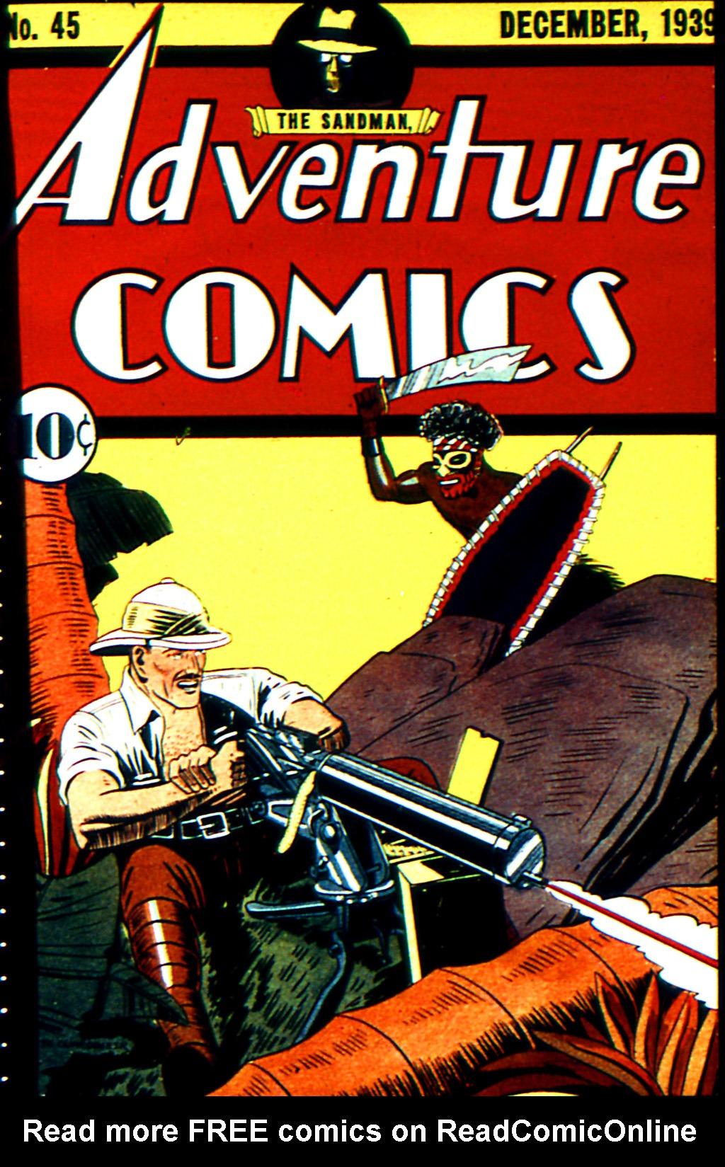 Read online Adventure Comics (1938) comic -  Issue #45 - 1