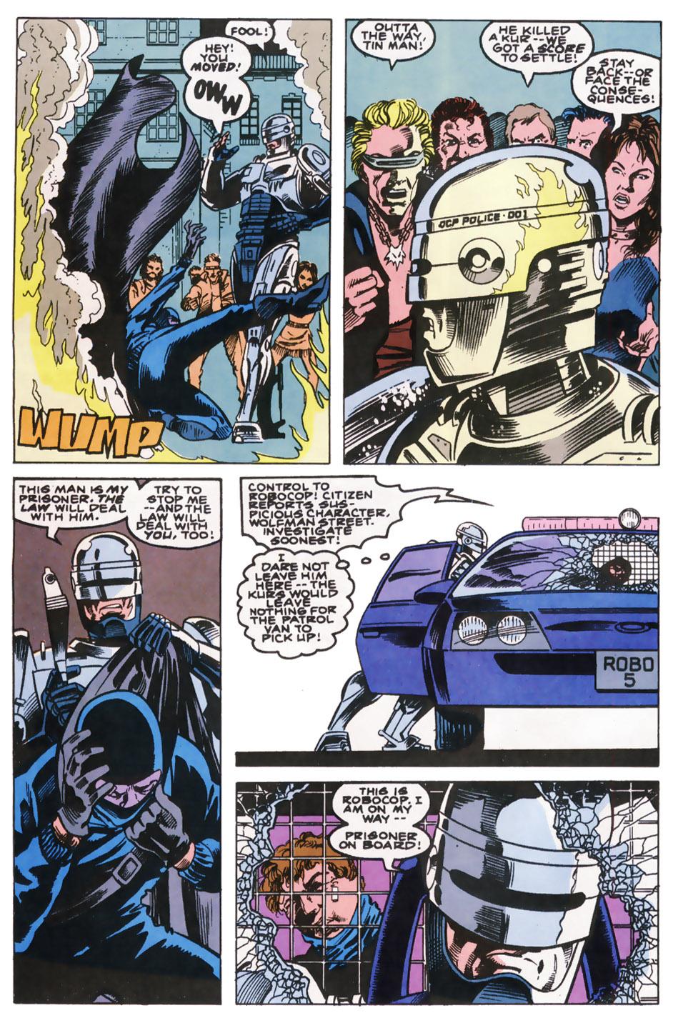 Read online Robocop (1990) comic -  Issue #10 - 11