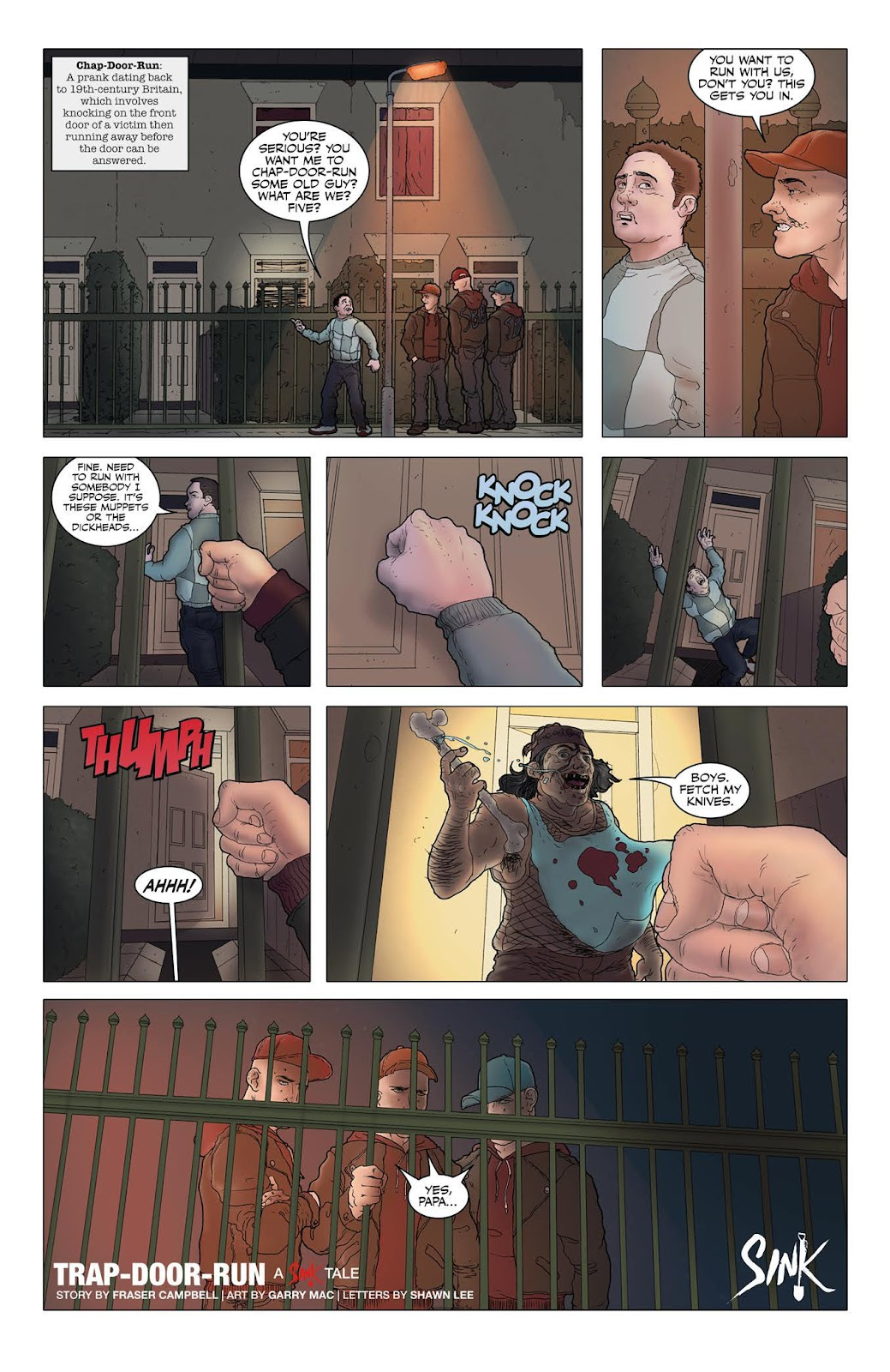 Sink issue 9 - Page 4