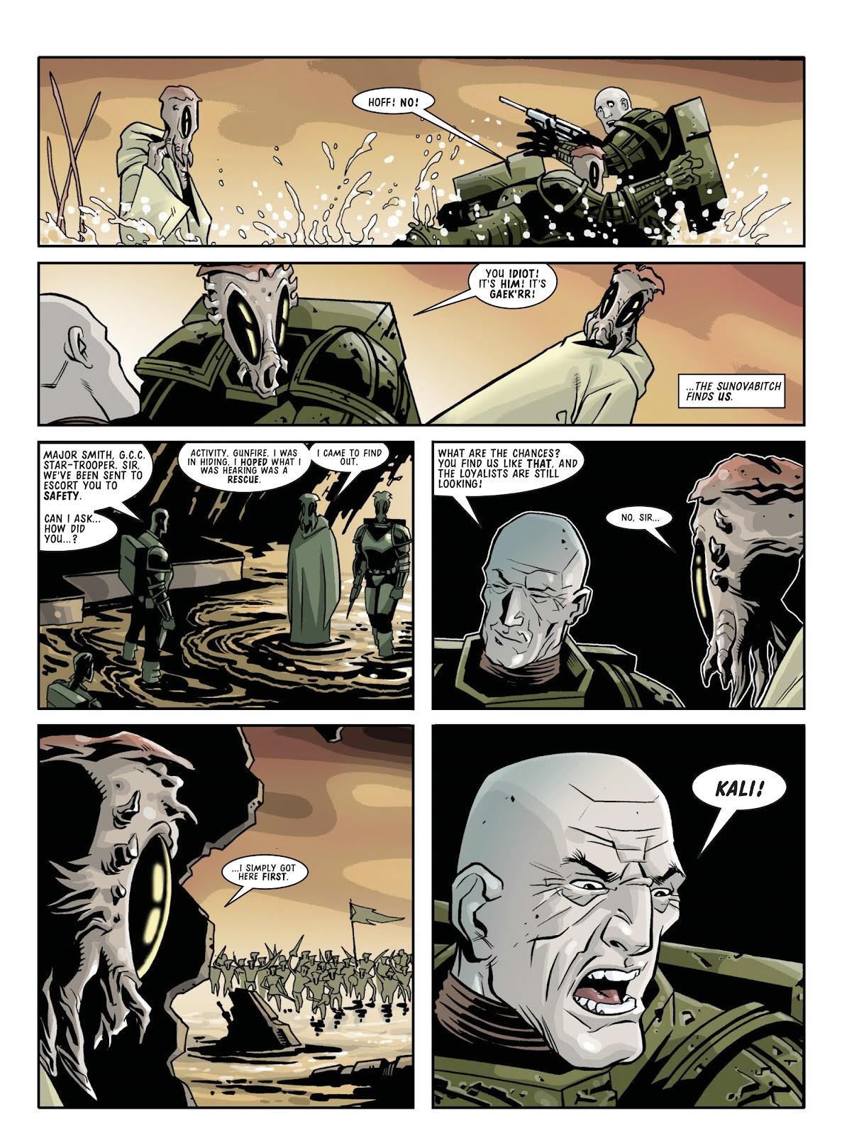 Judge Dredd Megazine (Vol. 5) Issue #381 #180 - English 100