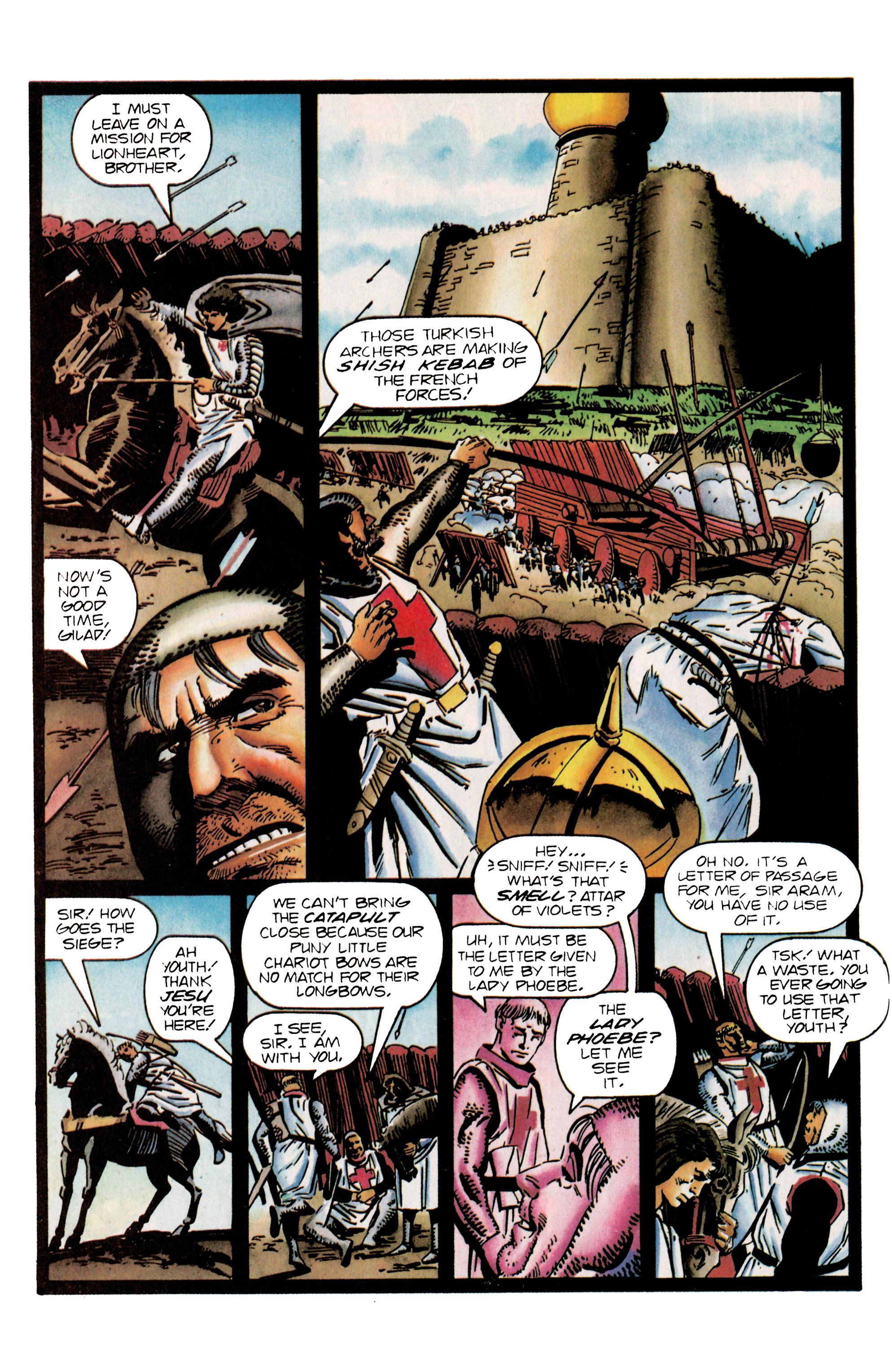 Read online Eternal Warrior (1992) comic -  Issue #25 - 8