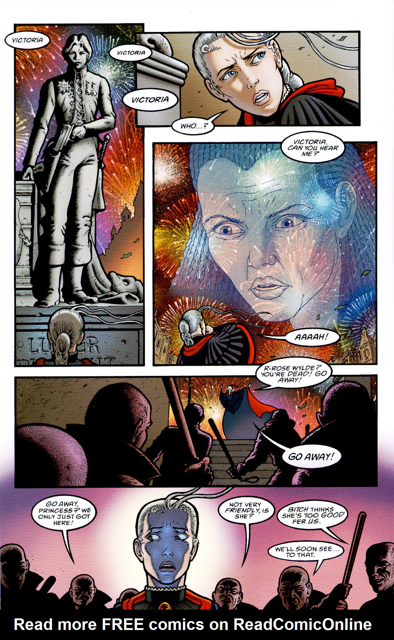Read online Heart of Empire comic -  Issue #5 - 40