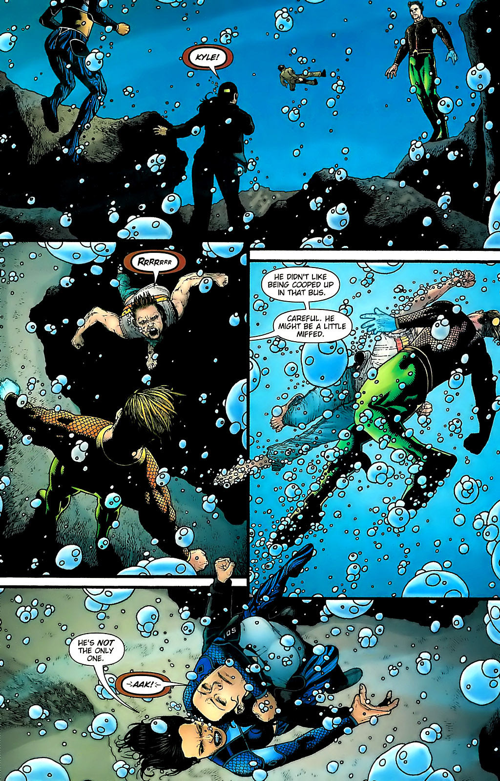 Read online Aquaman (2003) comic -  Issue #31 - 17