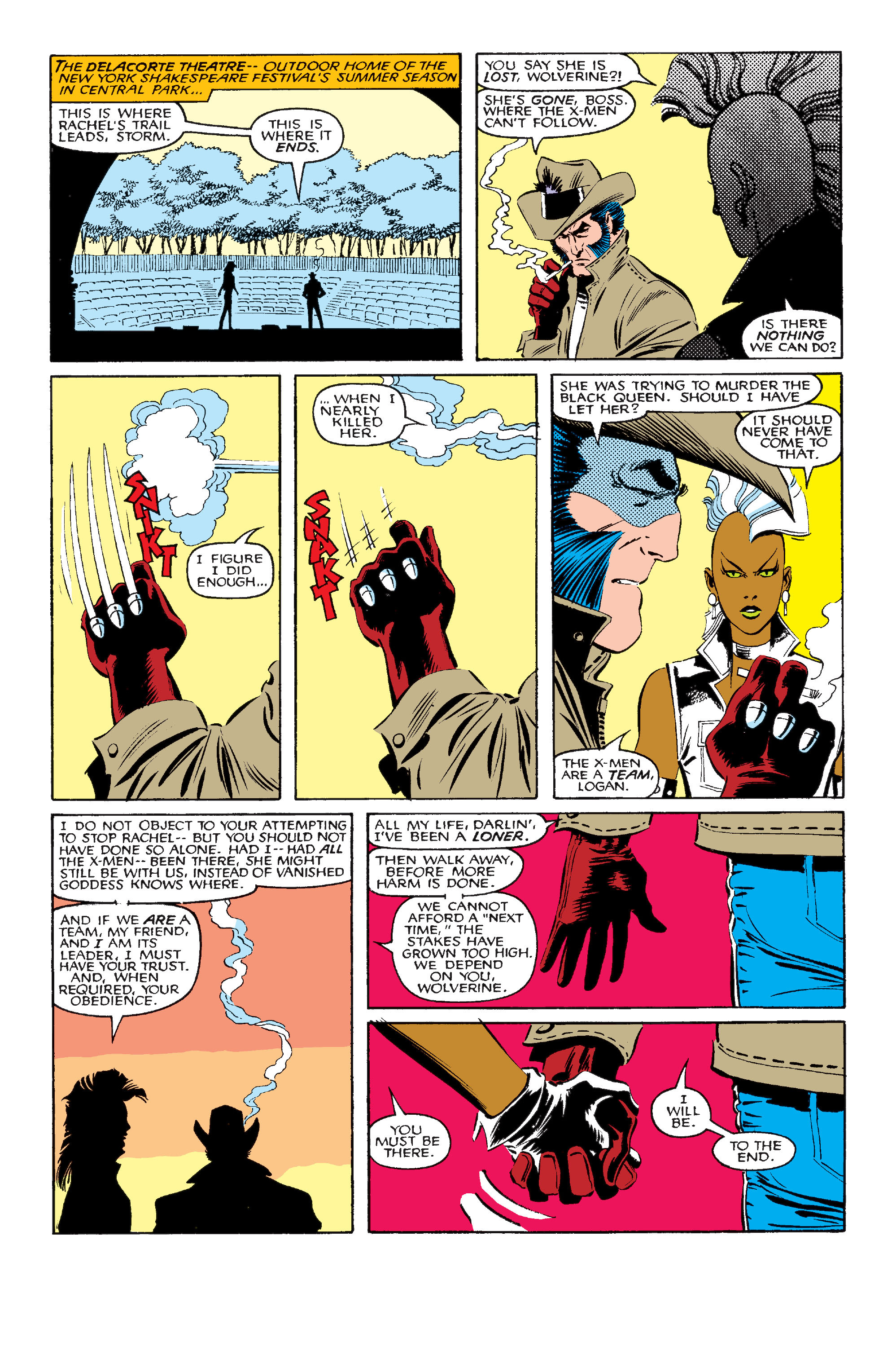 Read online Uncanny X-Men (1963) comic -  Issue #210 - 22
