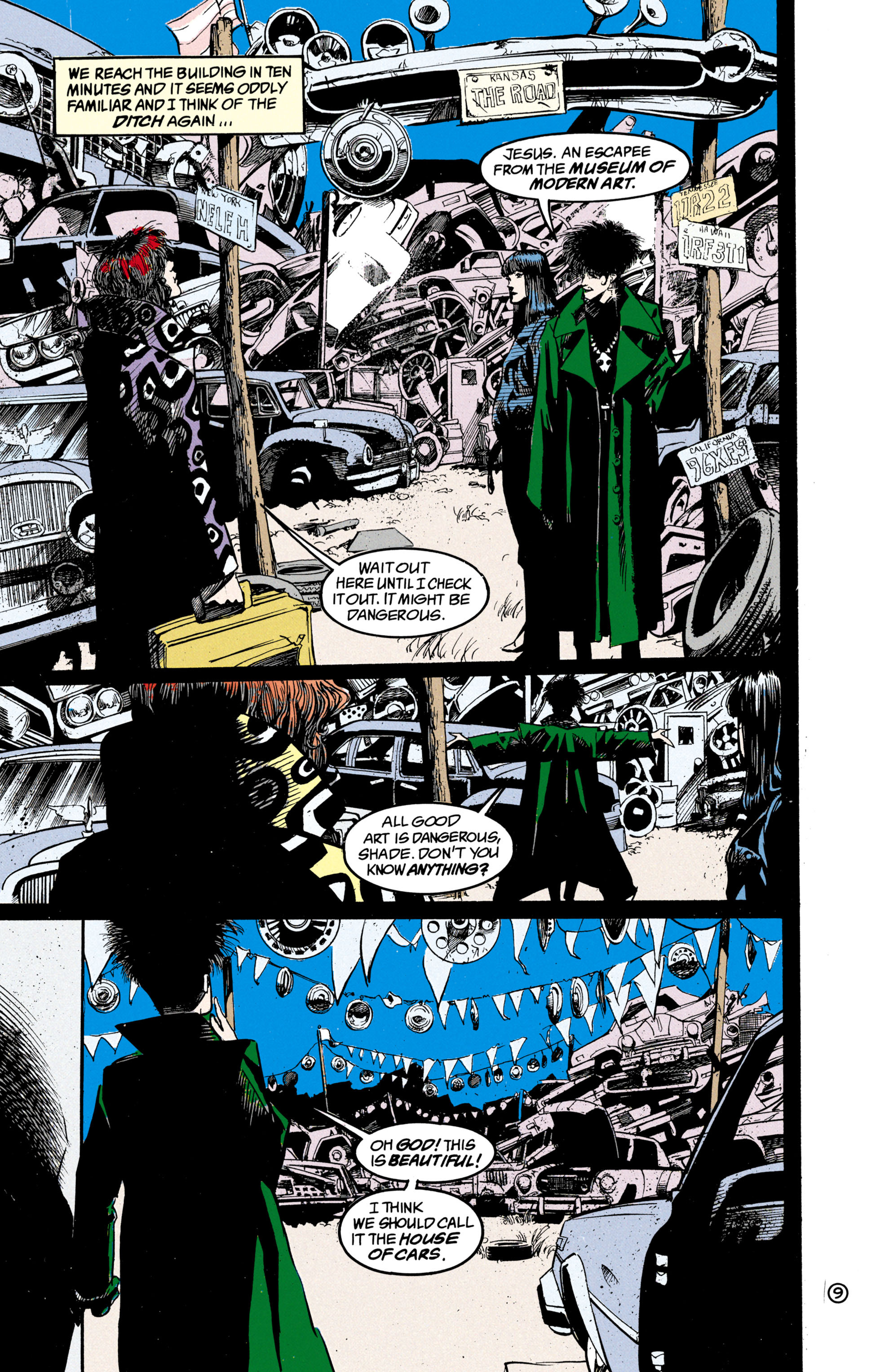 Read online Shade, the Changing Man comic -  Issue #21 - 10