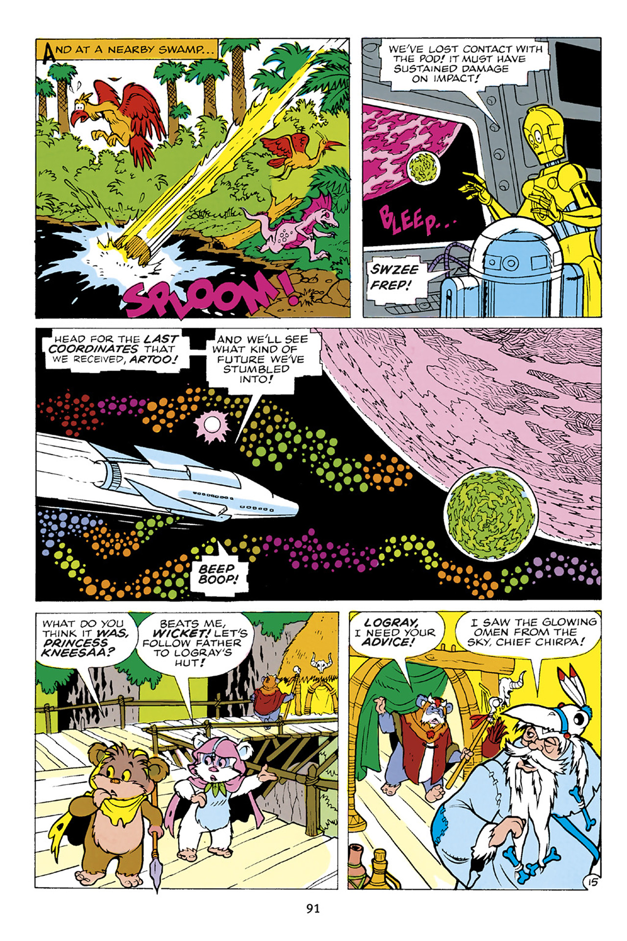 Read online Star Wars Omnibus comic -  Issue # Vol. 23 - 90