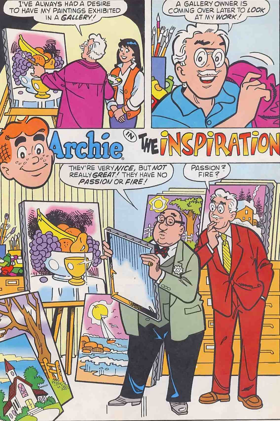 Read online Archie (1960) comic -  Issue #454 - 20