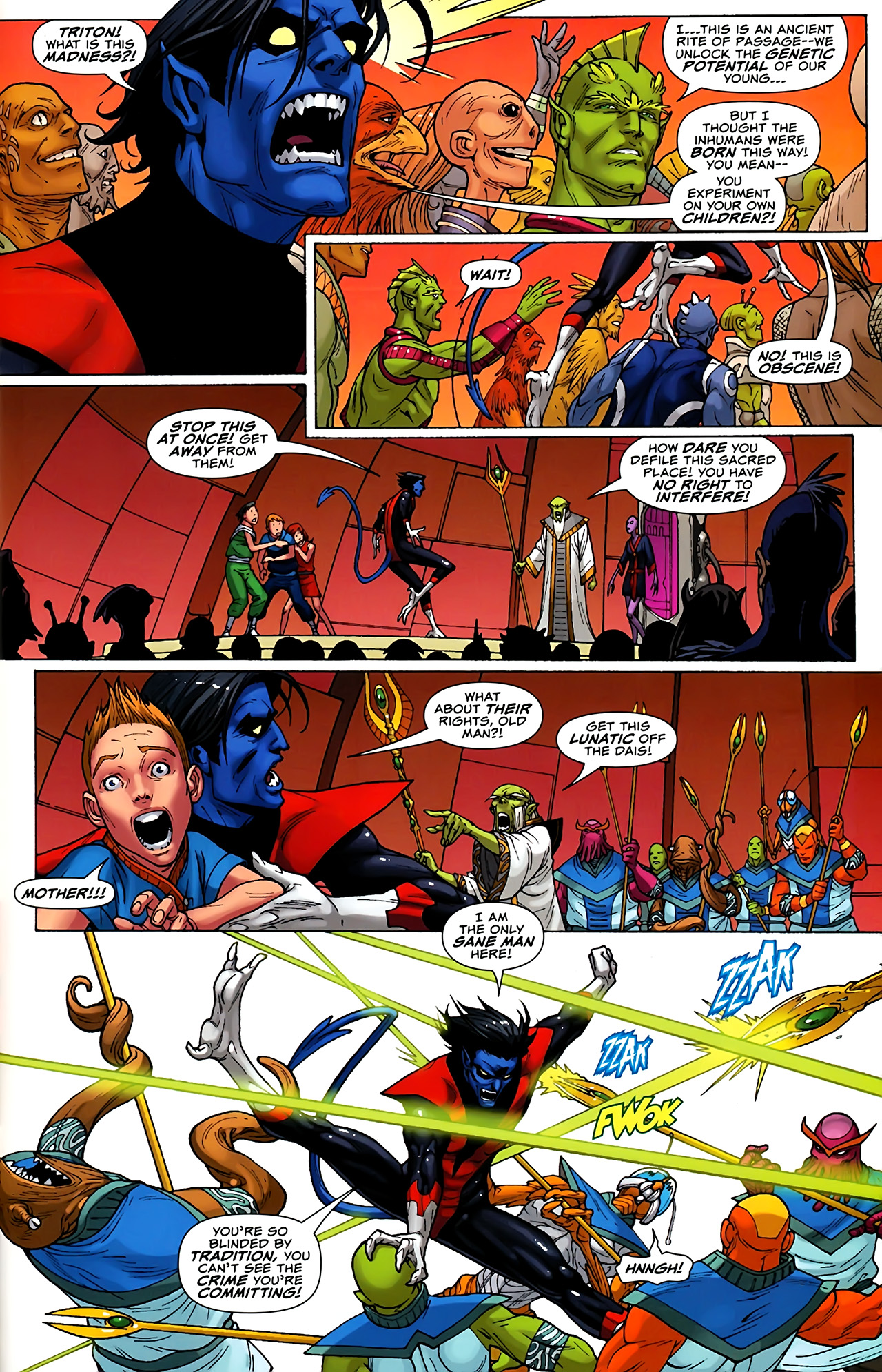 Read online Uncanny X-Men: First Class comic -  Issue #1 - 21