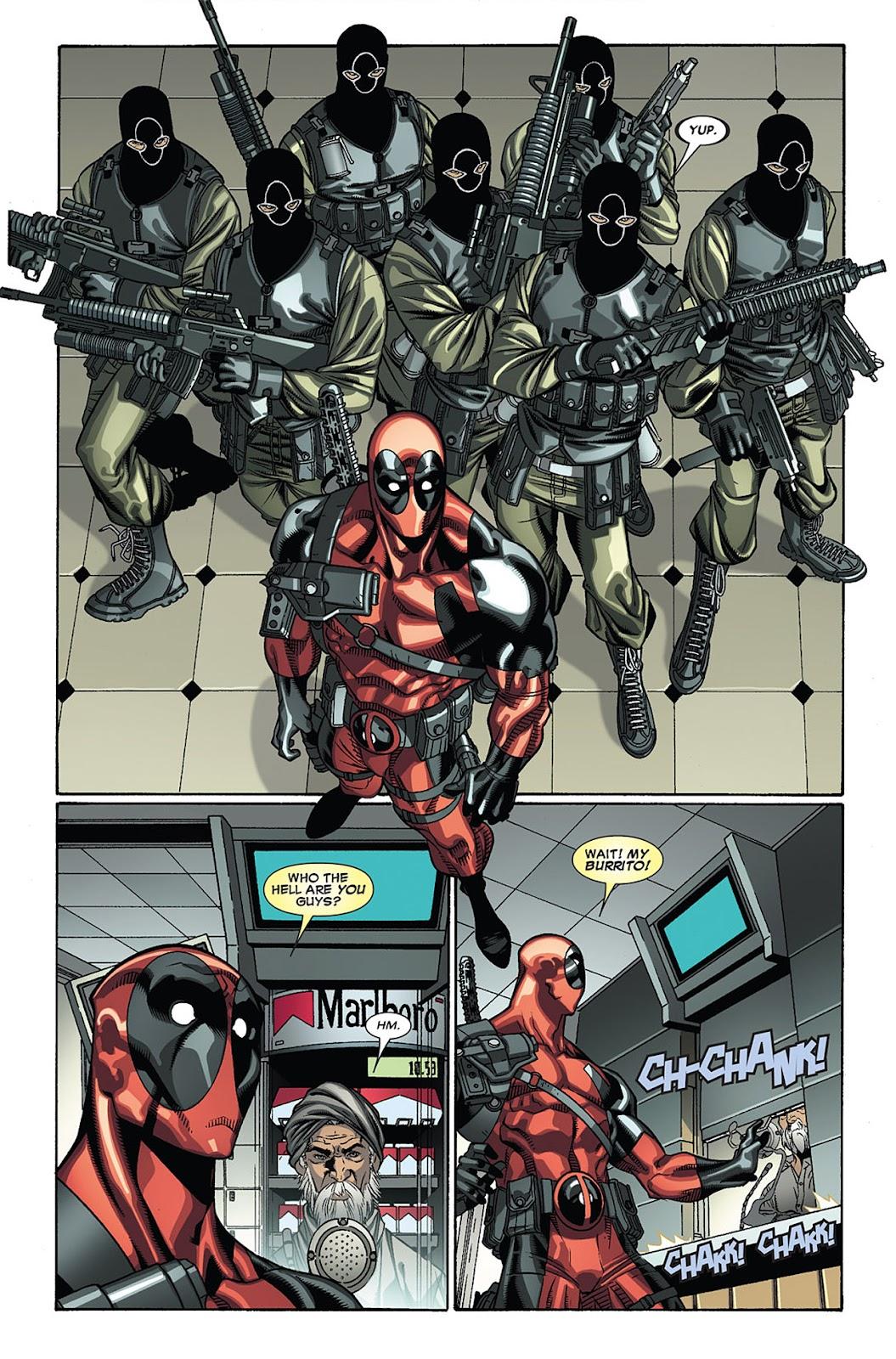 Read online Deadpool (2008) comic -  Issue #27 - 5