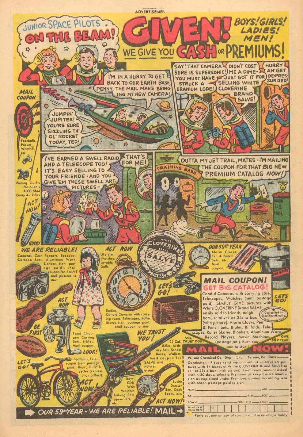Read online Adventure Comics (1938) comic -  Issue #198 - 33