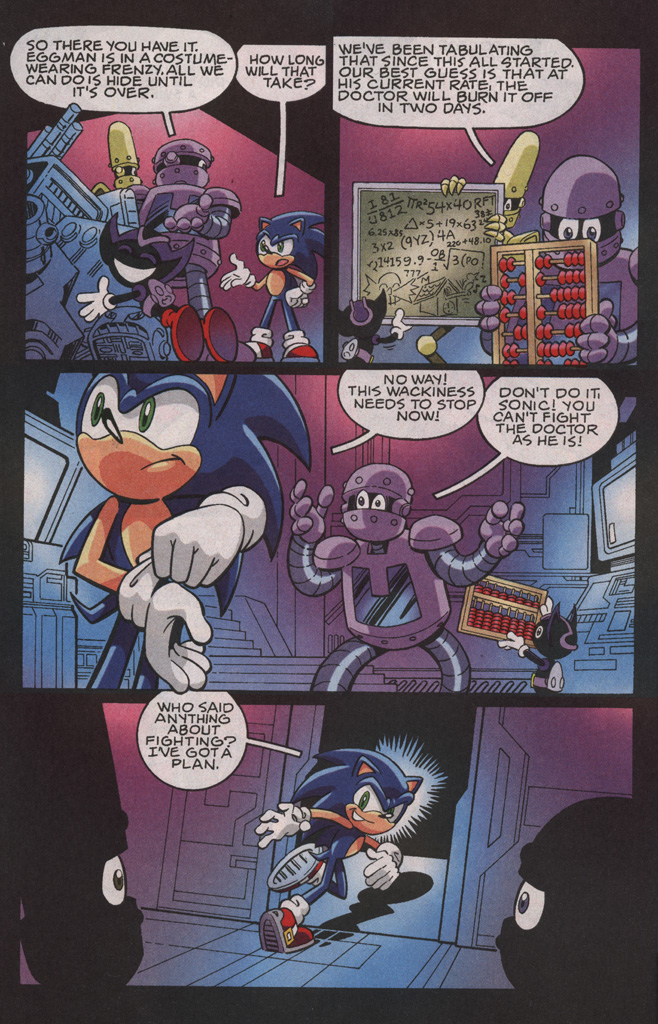 Read online Sonic X comic -  Issue #35 - 18