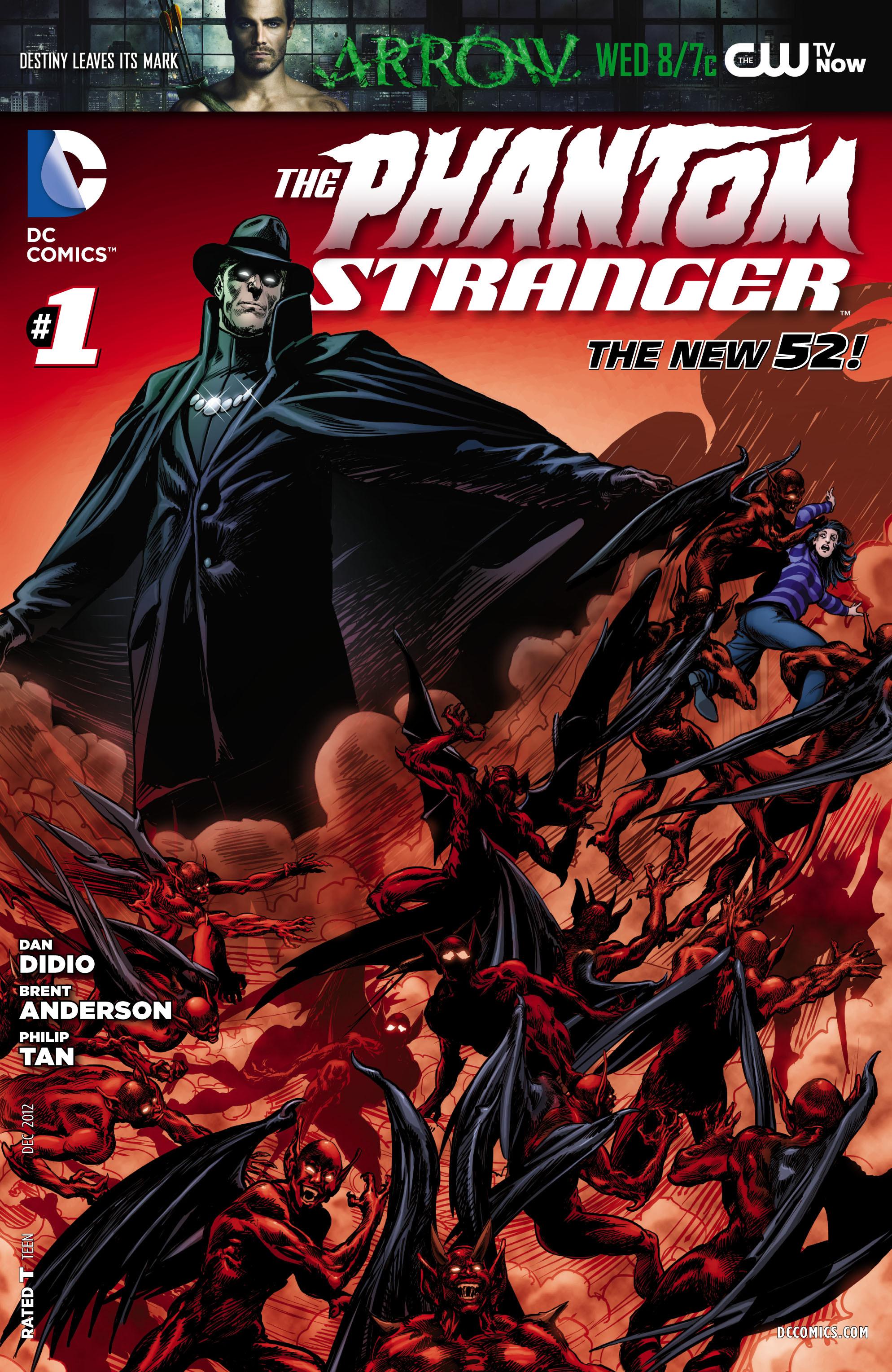 Read online Trinity of Sin: The Phantom Stranger comic -  Issue #1 - 1