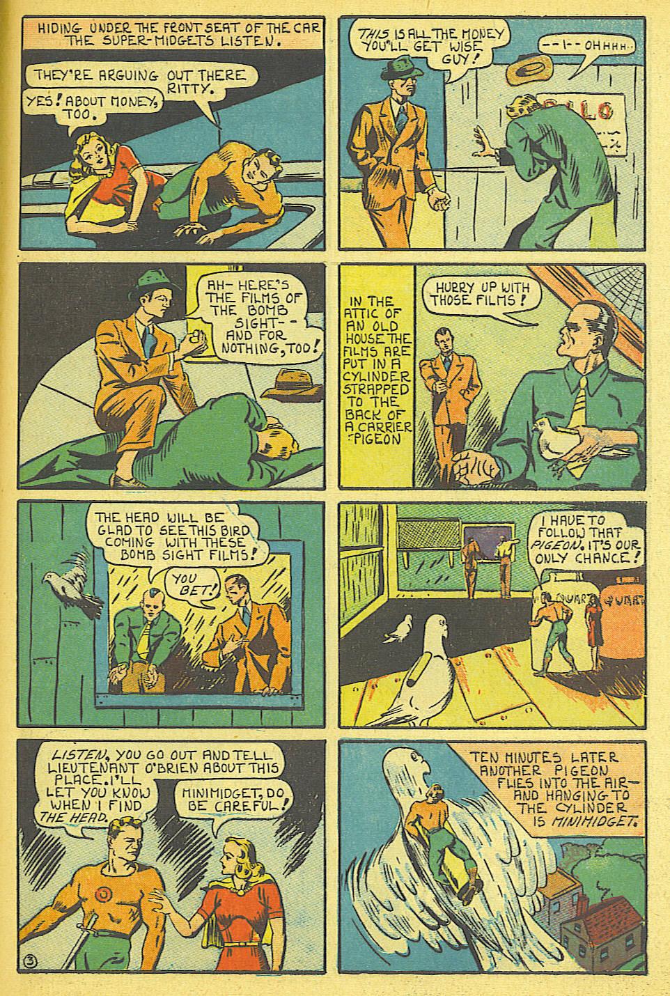 Read online Amazing Man Comics comic -  Issue #19 - 61