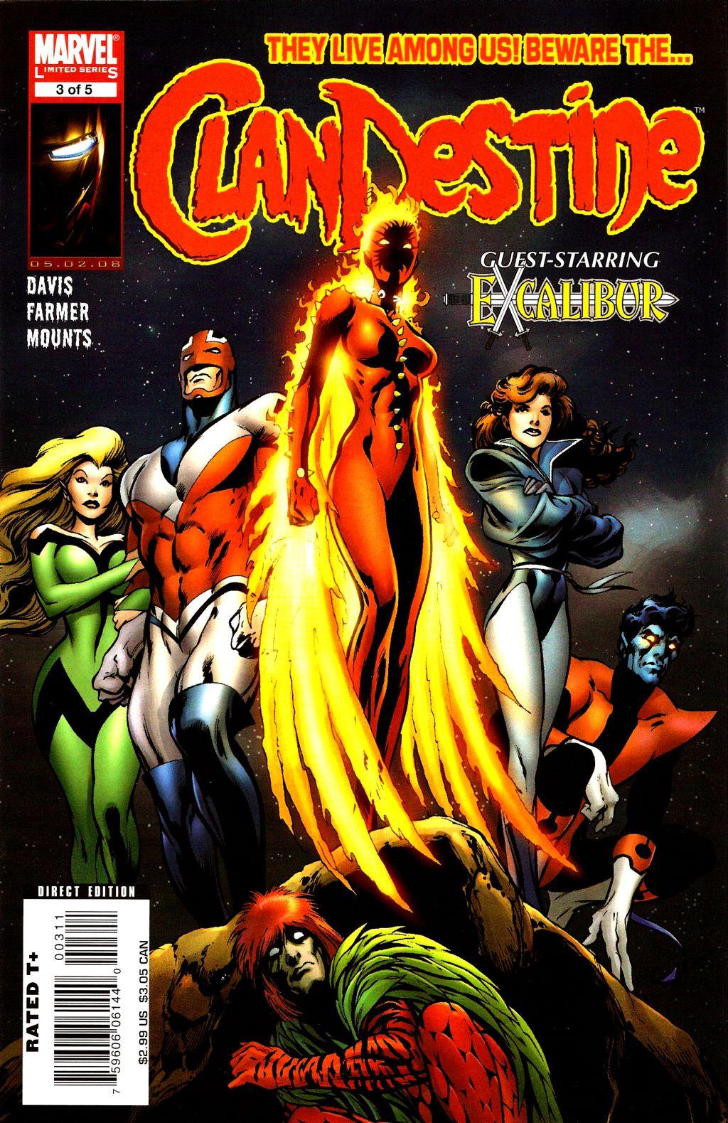 ClanDestine (2008) issue 3 - Page 1