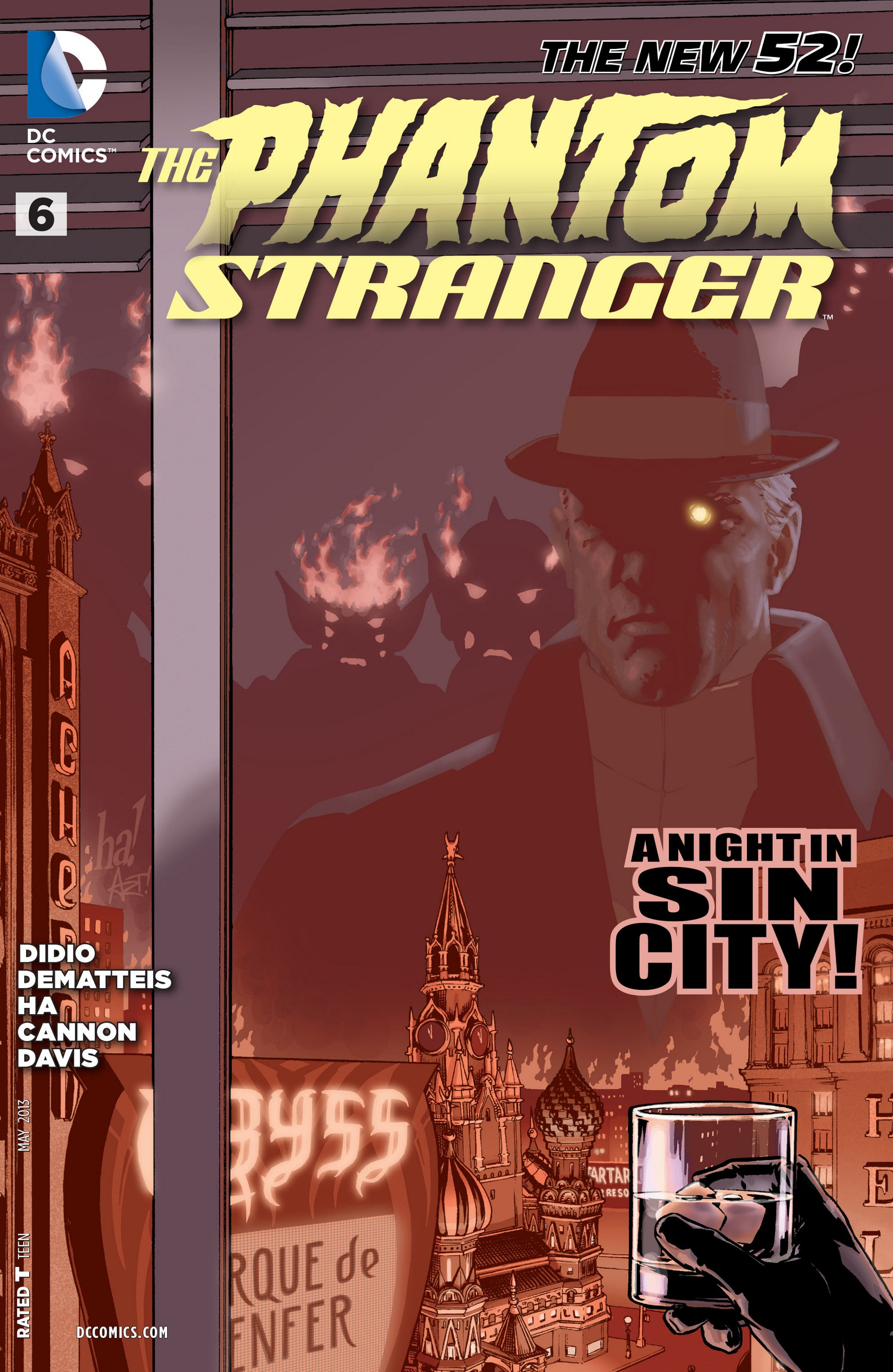 Read online Trinity of Sin: The Phantom Stranger comic -  Issue #6 - 1